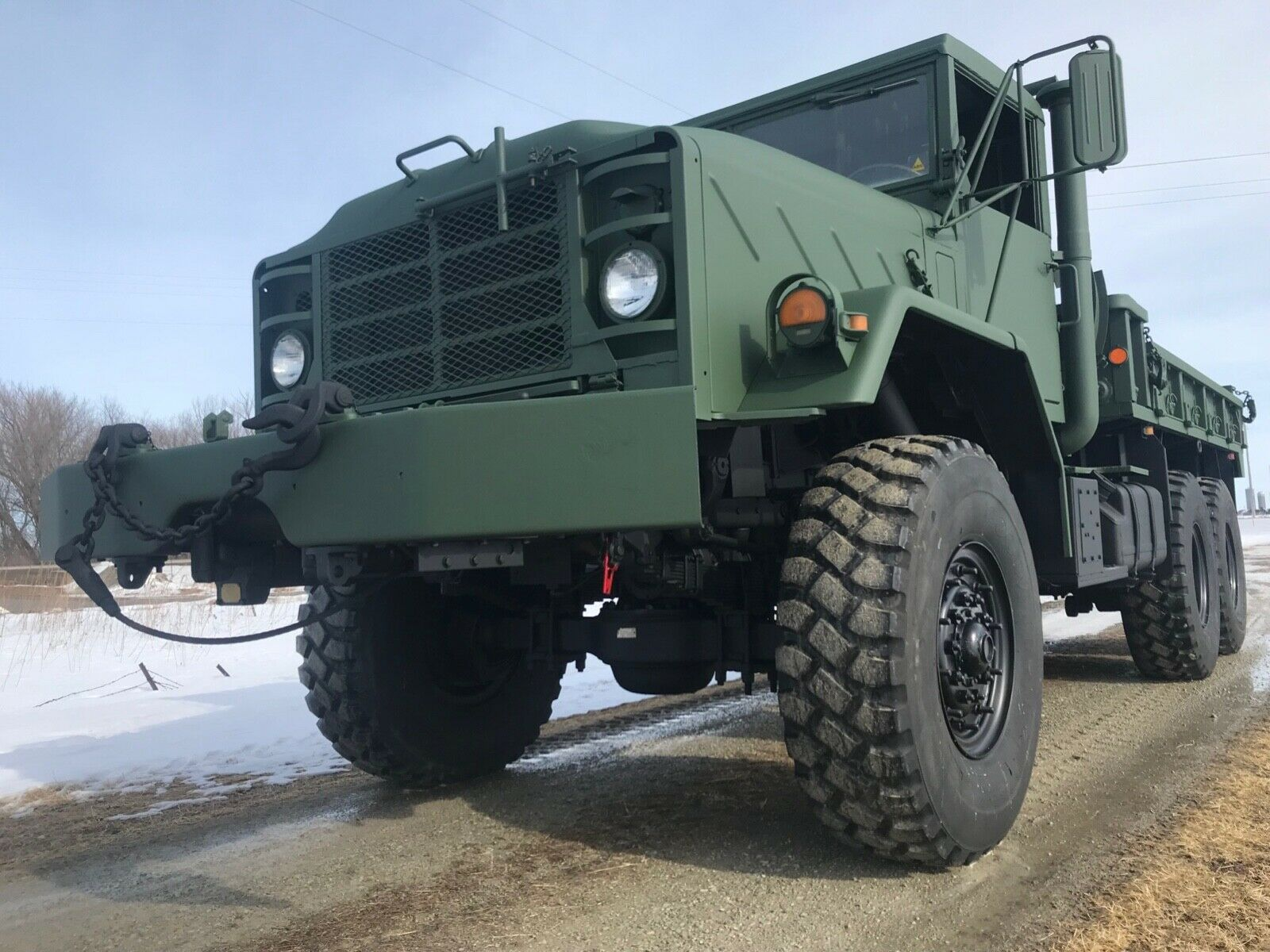 very clean 1991 BMY Harsco M925a2 6×6 Cargo Truck military for sale