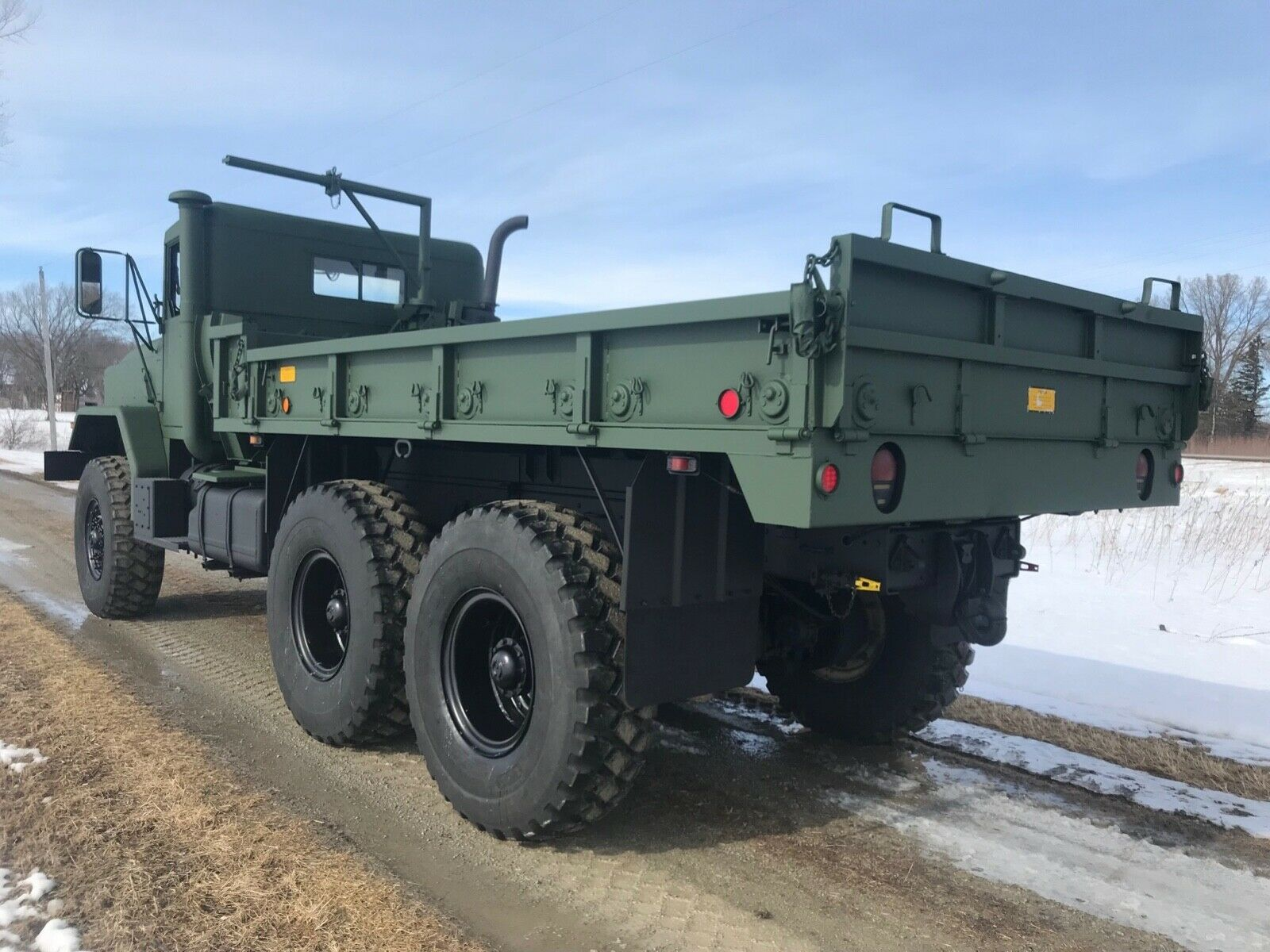very clean 1991 BMY Harsco M925a2 6×6 Cargo Truck military