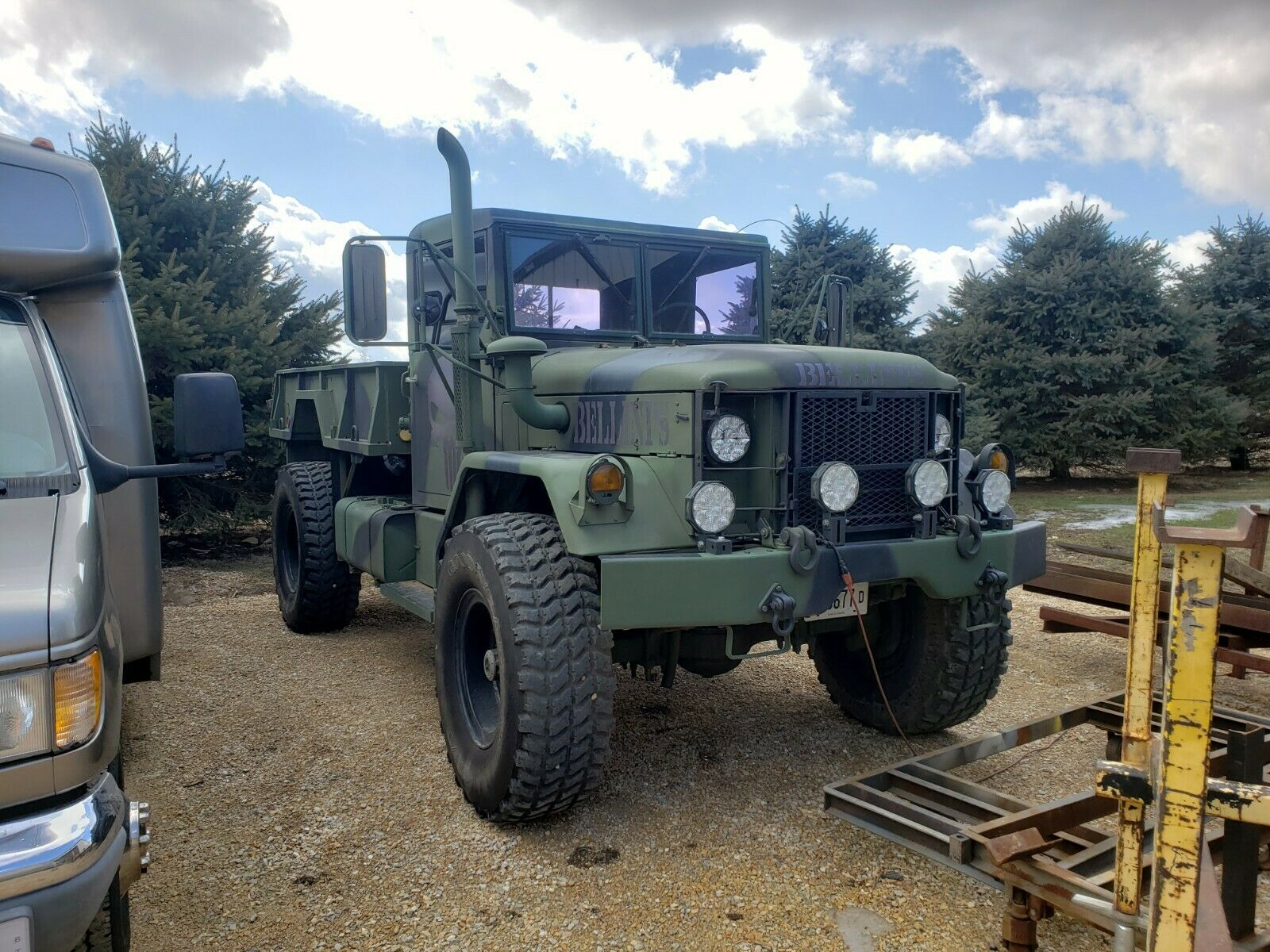 bobbed 1971 AM General M35A2 military for sale