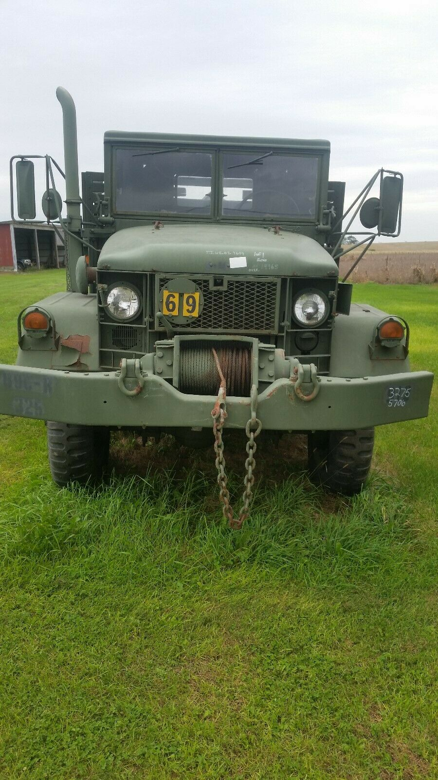 great running 1967 Kaiser 6×6 Deuce and a half Military for sale