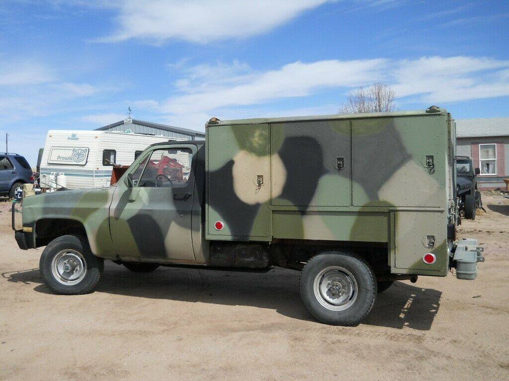 low miles 1986 Chevrolet M1031 CUCV 4X4 military for sale
