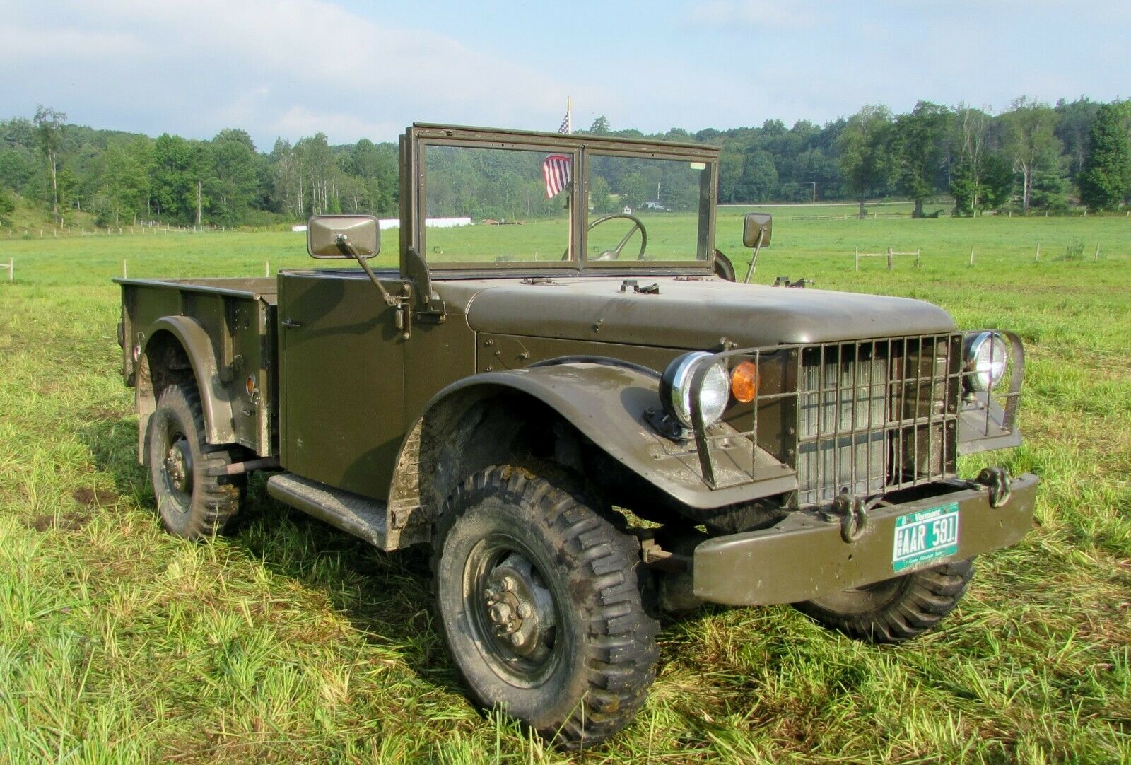 rust free 1951 Dodge M37 military for sale