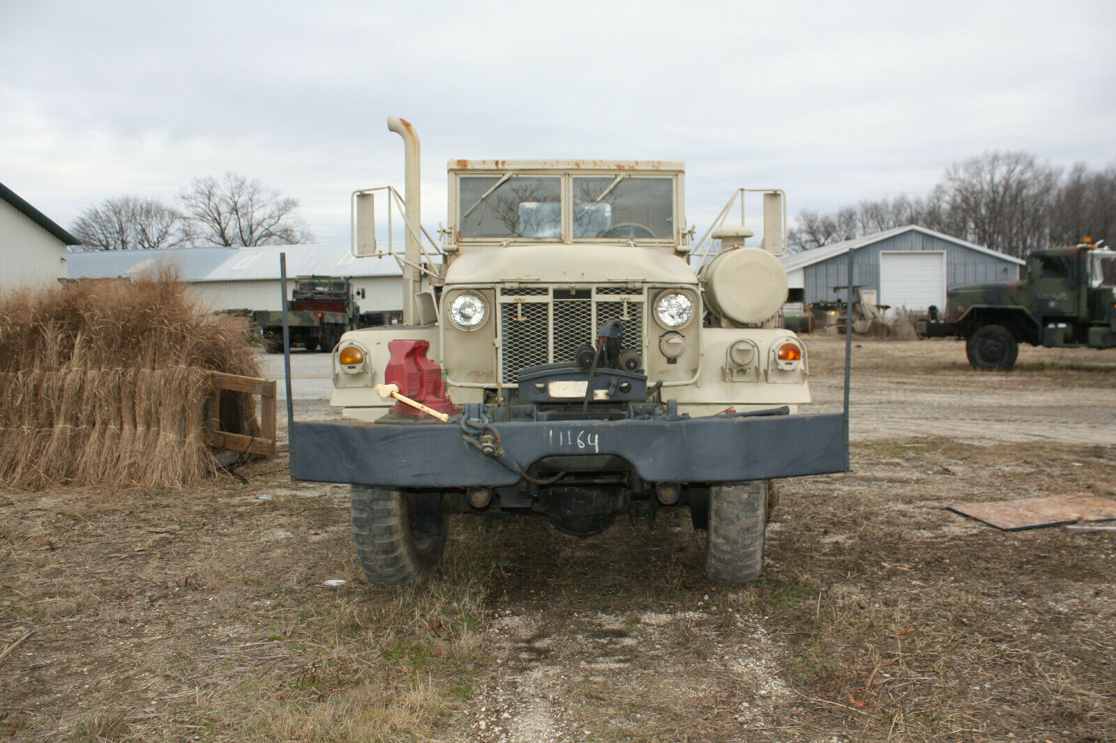 strong 1971 AM General wrecker military for sale