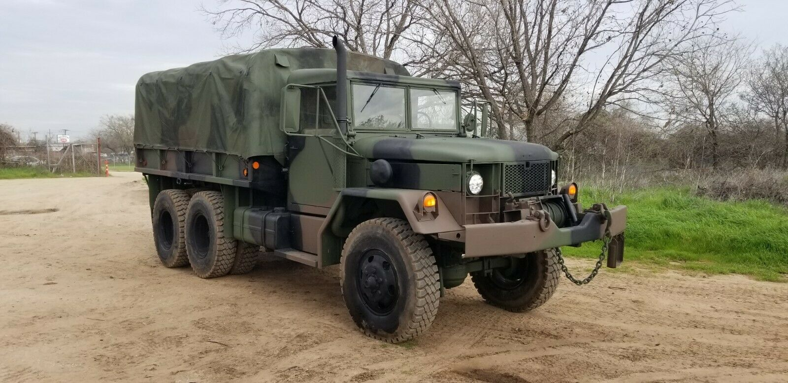 upgraded 1966 Kaiser JEEP M35a2 Deuce 6X6 military for sale