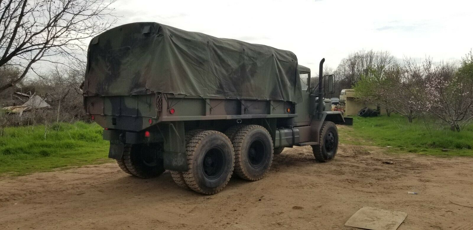 upgraded 1966 Kaiser JEEP M35a2 Deuce 6X6 military