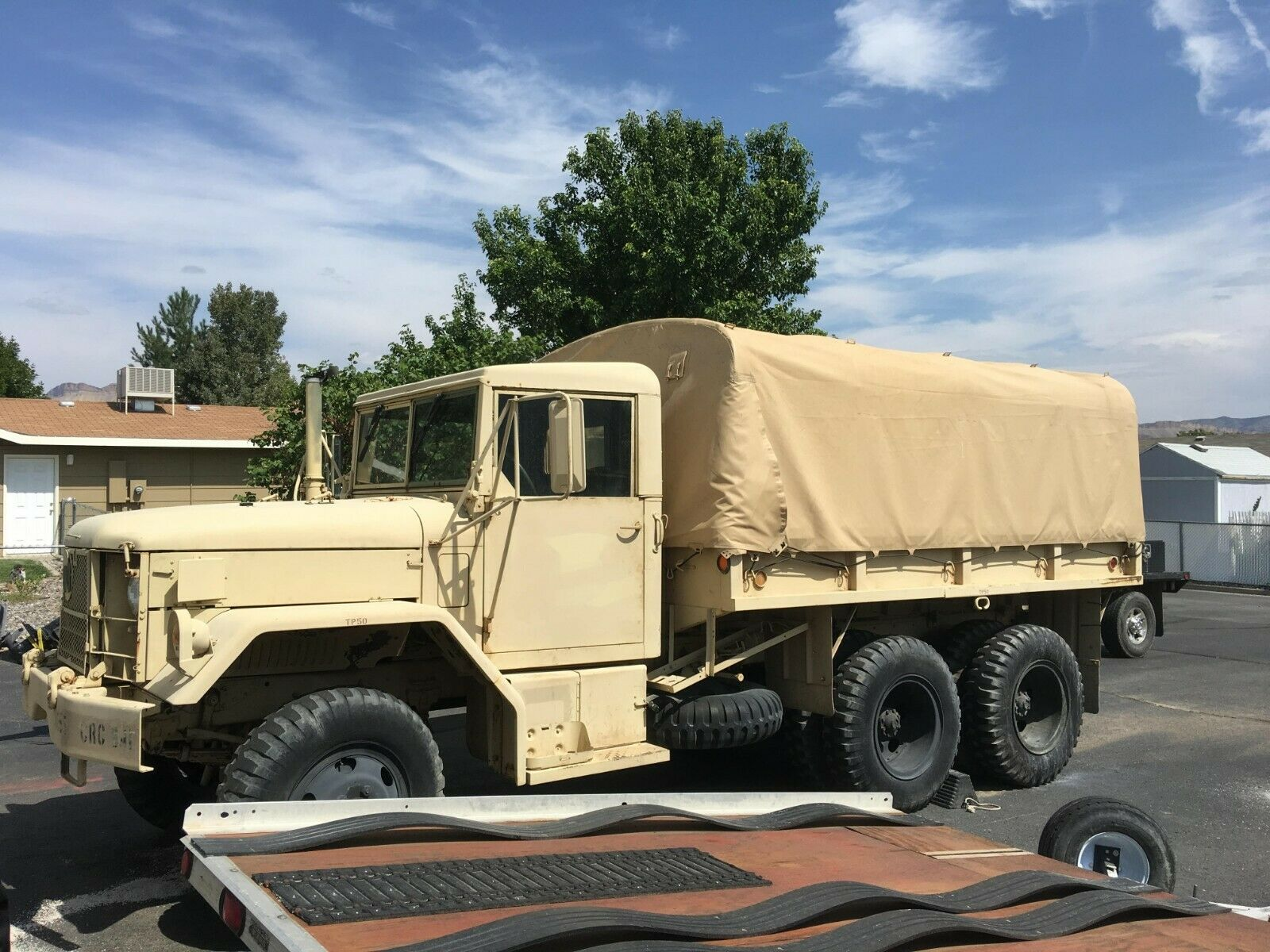 very nice 1971 AM General M35a2 Duece and a Half military for sale