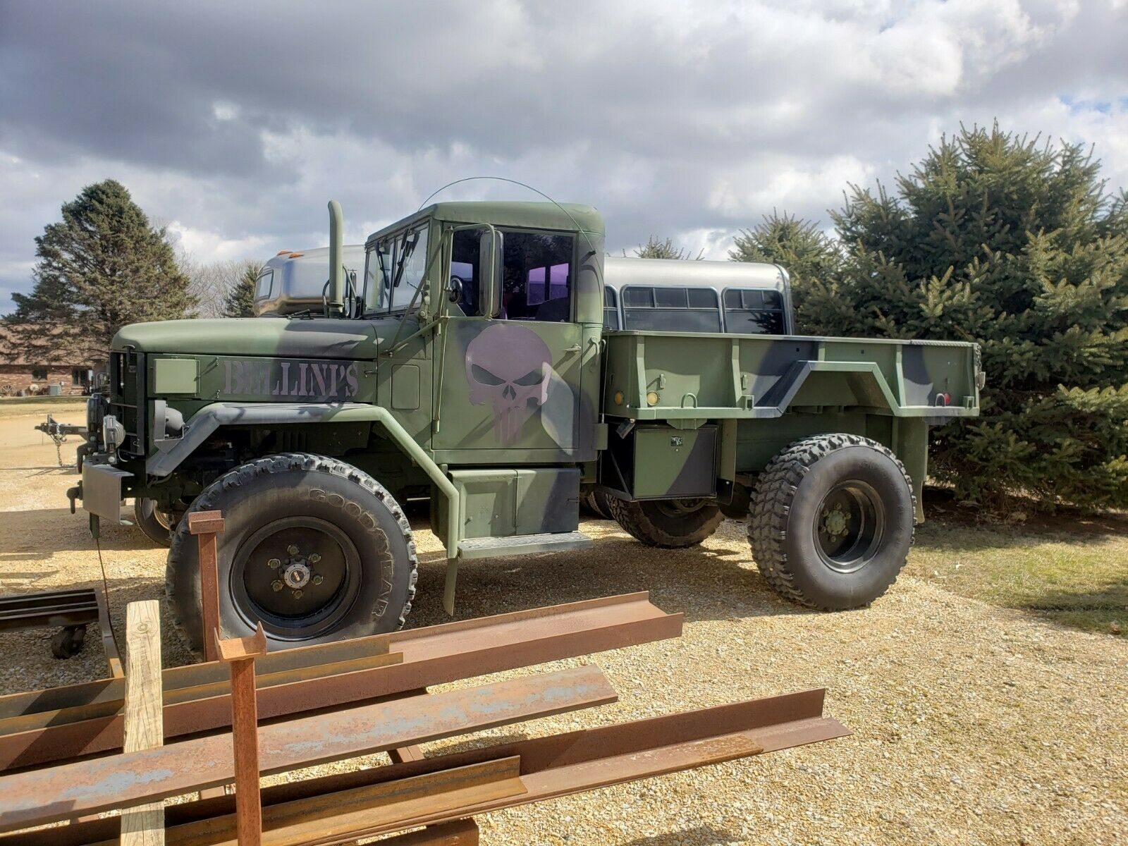 bobbed 1971 AM General M35A2 military