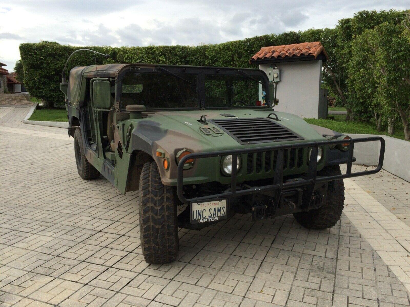 Completely Restored 1987 AM General Humvee M988