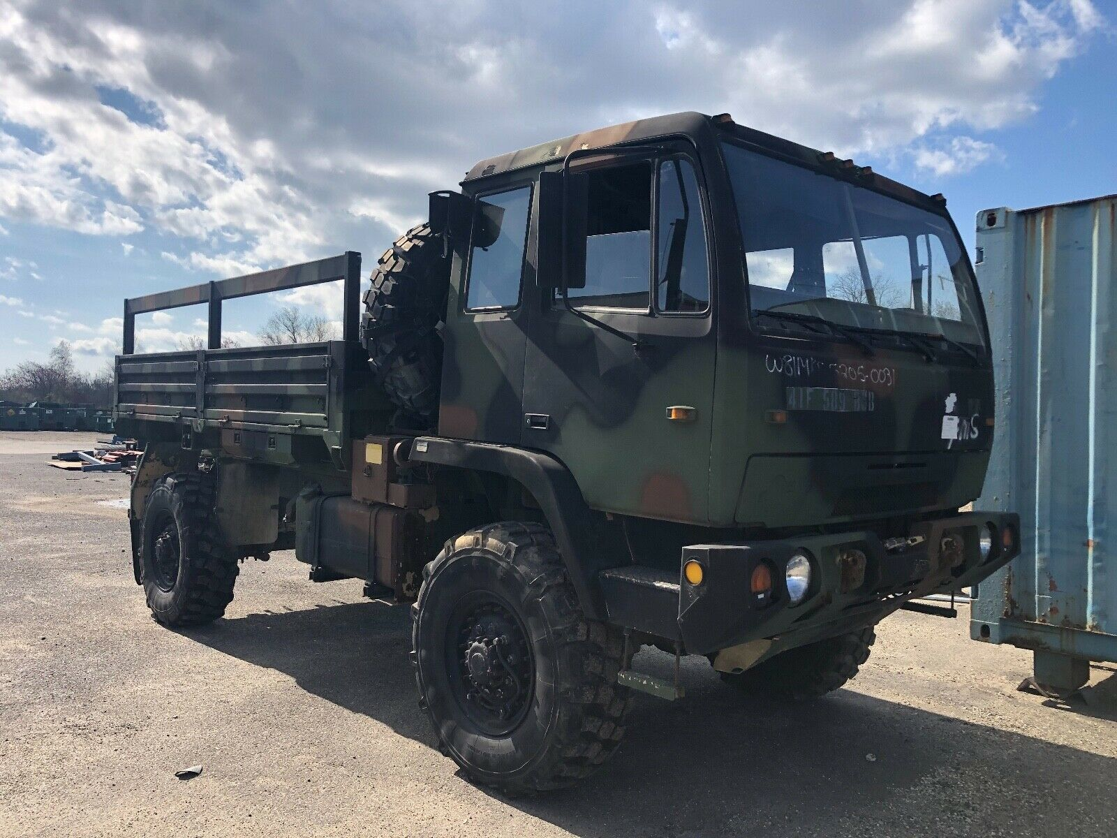 everything works 1998 Stewart & Stevenson M1078 military for sale