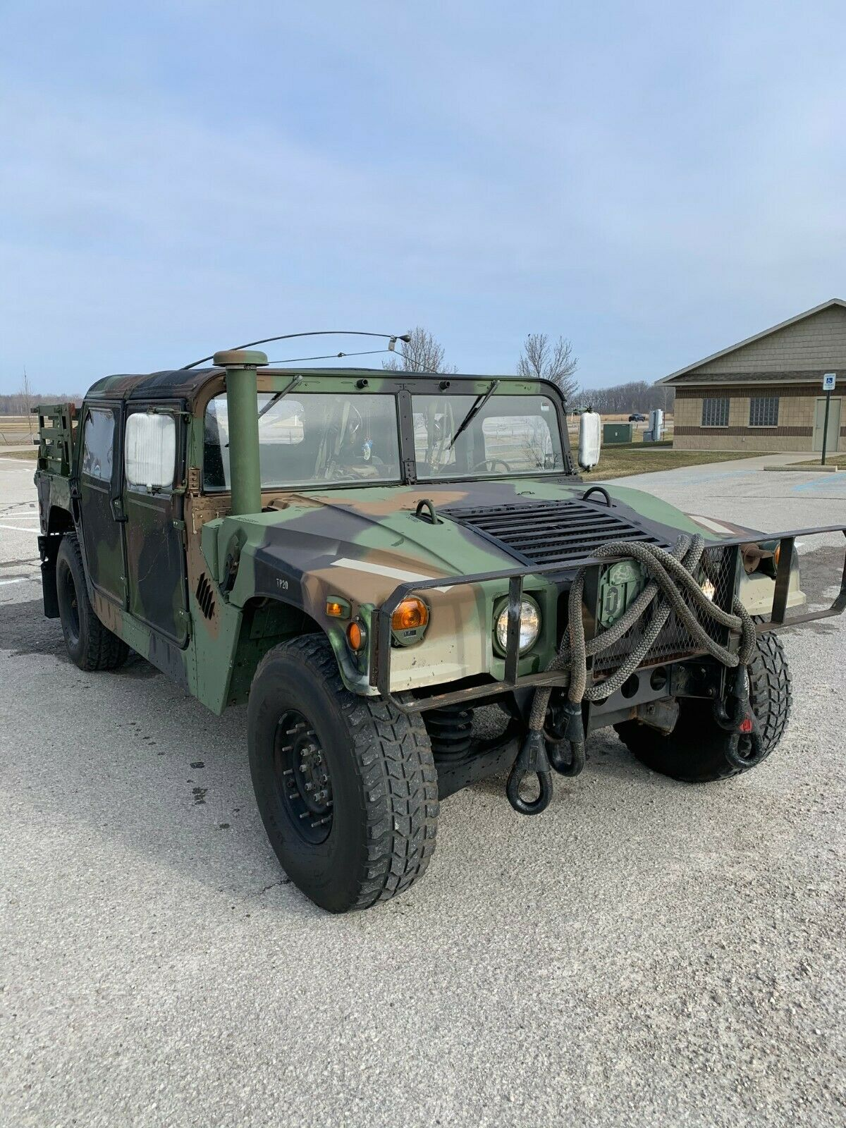 extra parts 1990 AM General M998 Humvee military for sale
