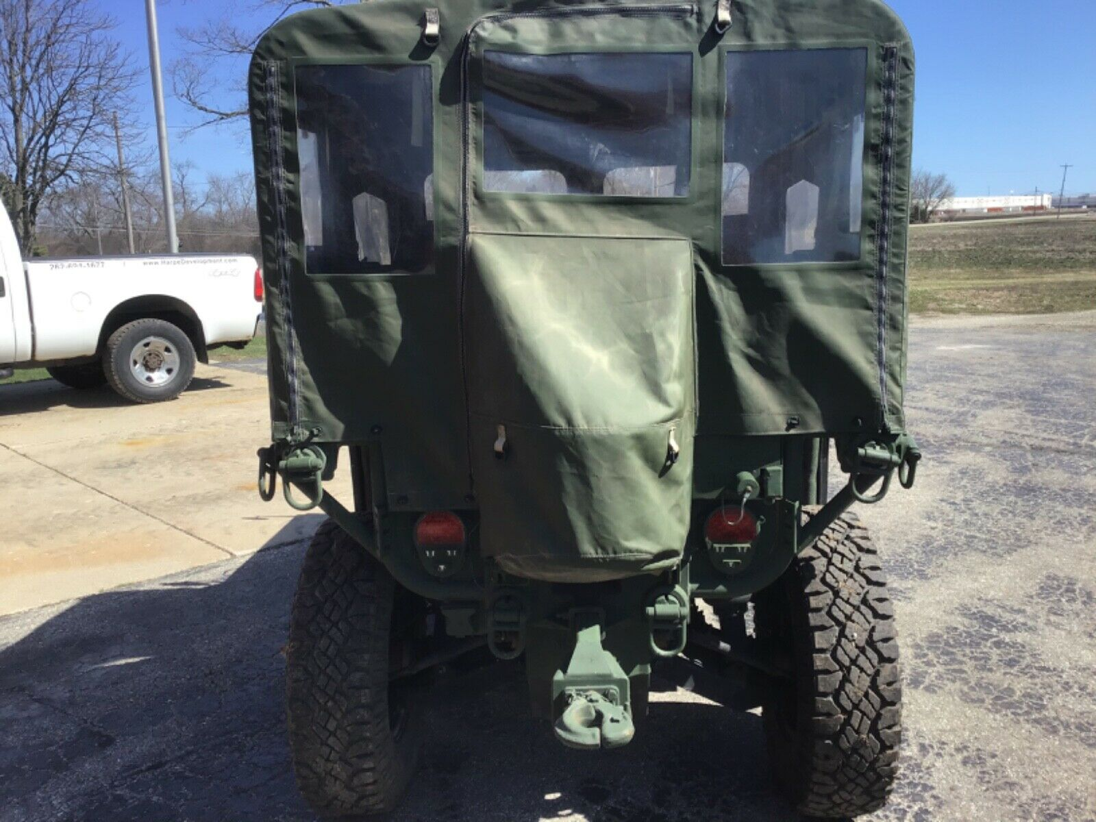 extremely cool 2011 General Dynamics M1163 military