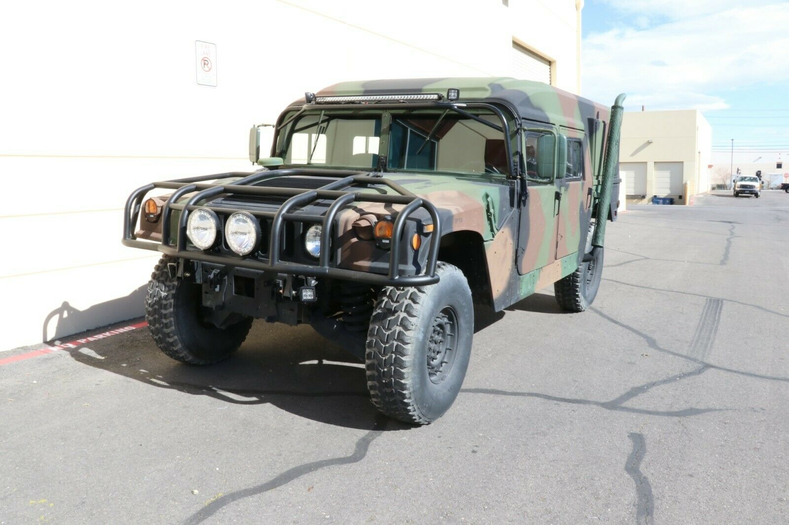 great shape 2009 AM General Hmmwv USMC Hummer Military