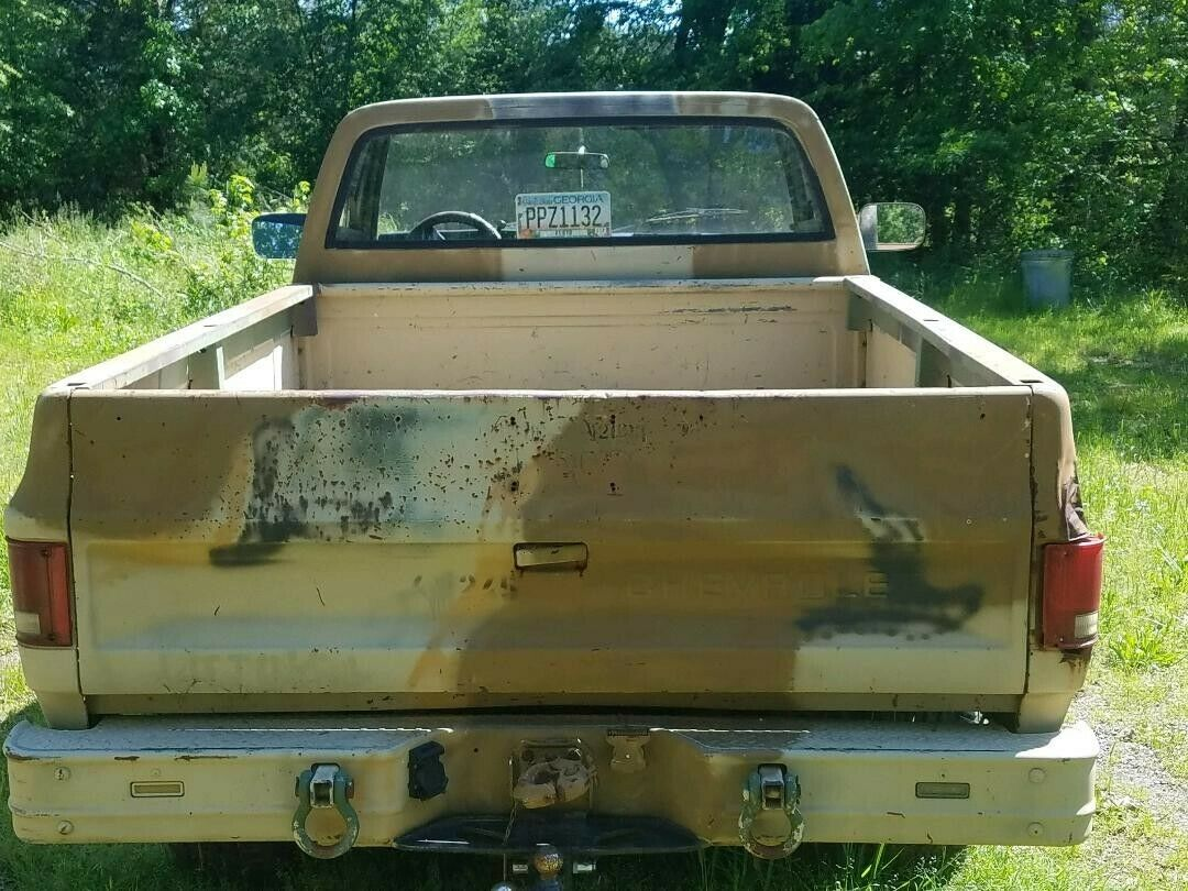 minor rust 1985 Chevrolet CUCV M1008 Military