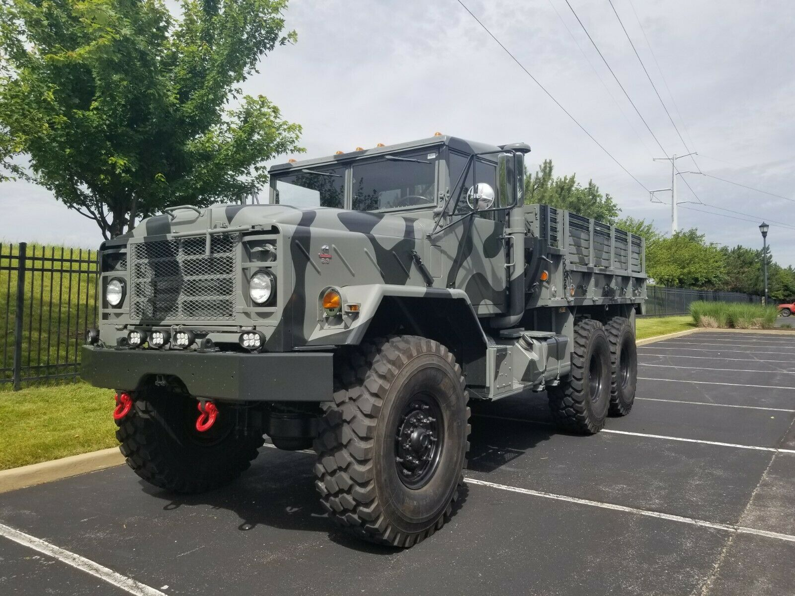 restored 1989 BMY Harsco military for sale