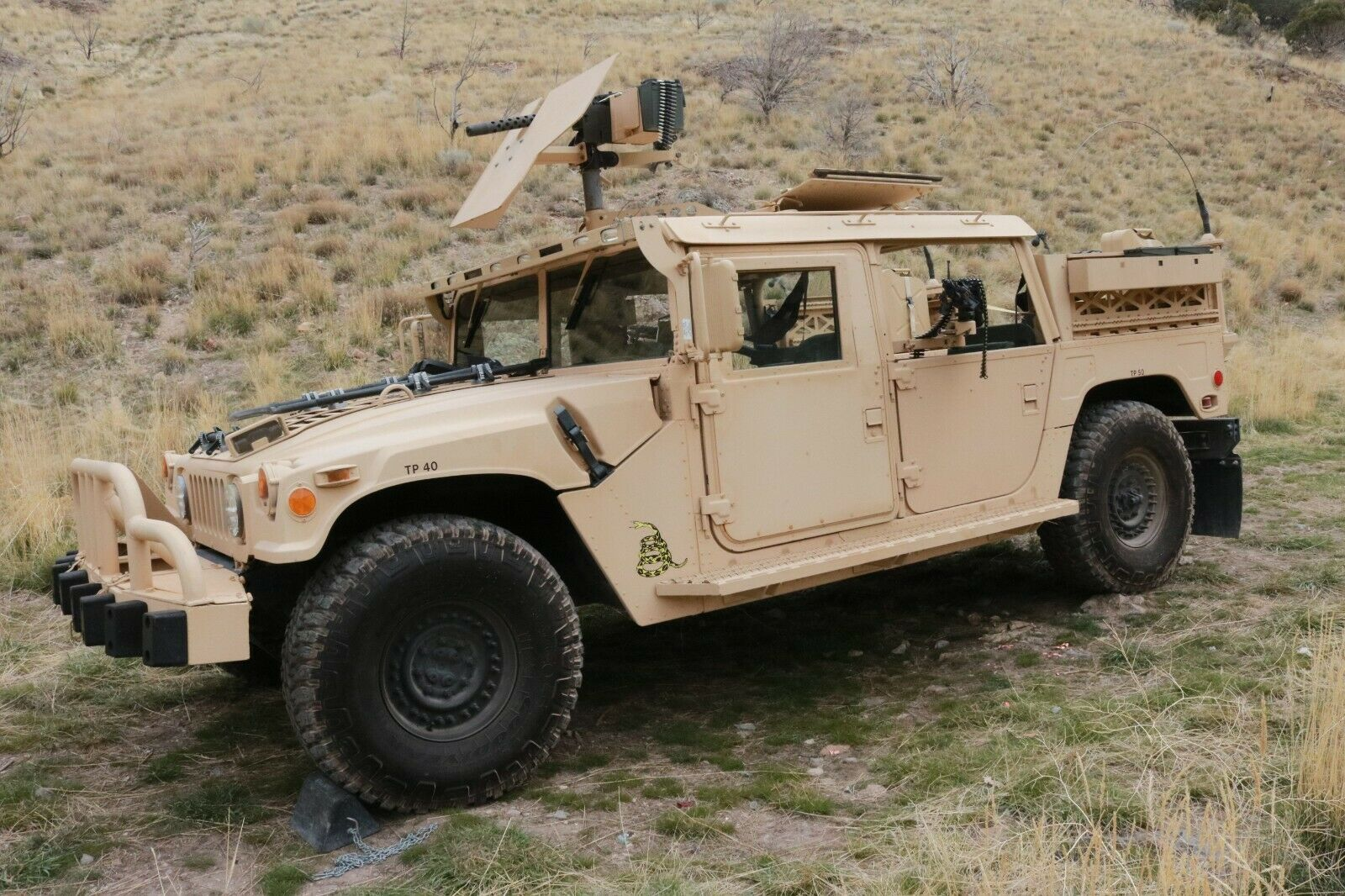restored 2007 AM General Humvee GMV Hmmwv M1025 military for sale