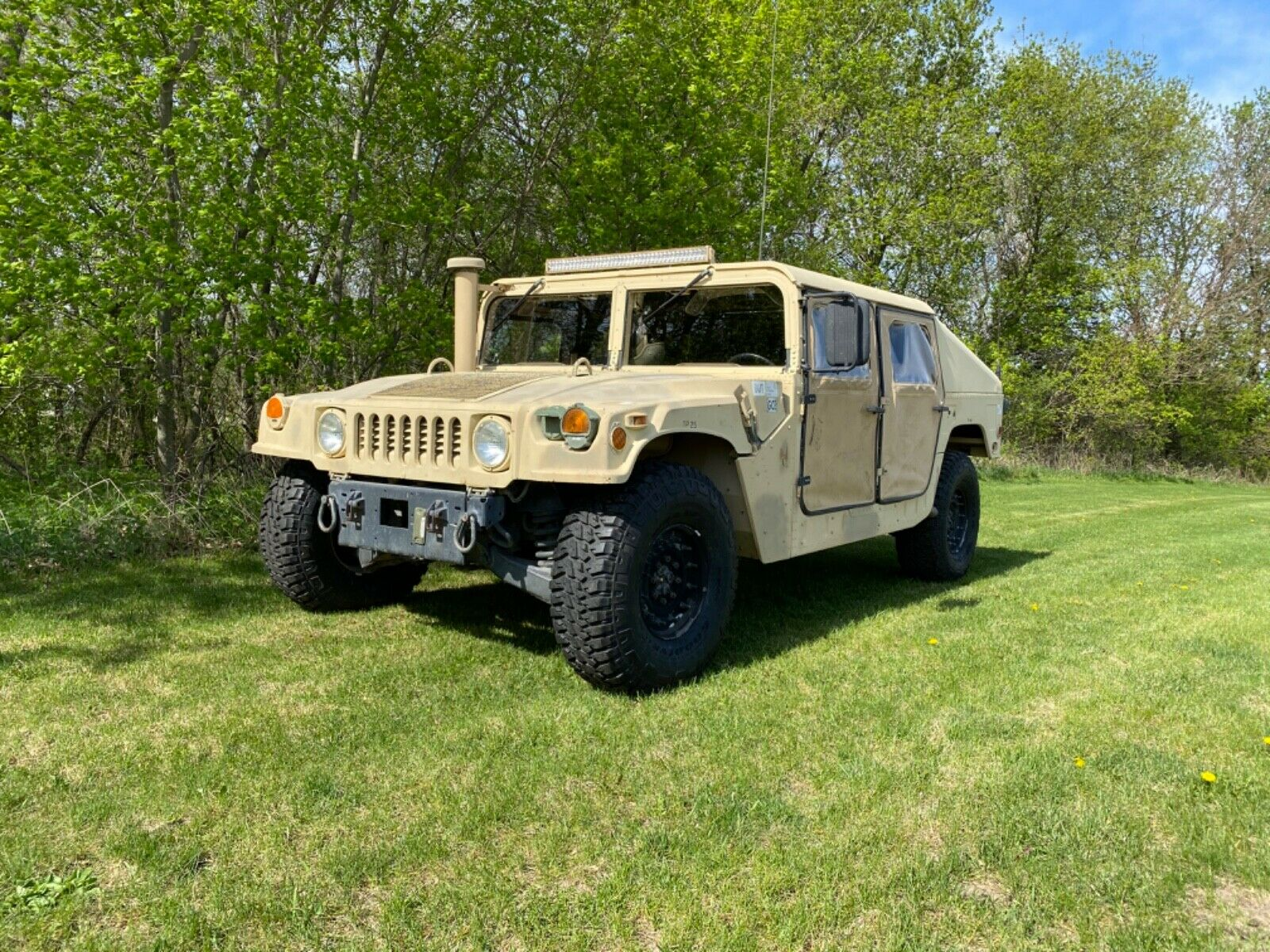 runs and drives 2001 AM General M1045a2 Hmmwv military for sale