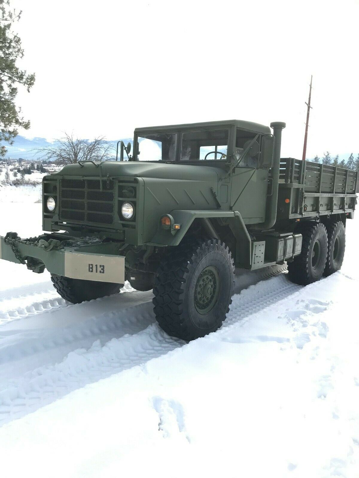 rust free 1984 AM General military for sale