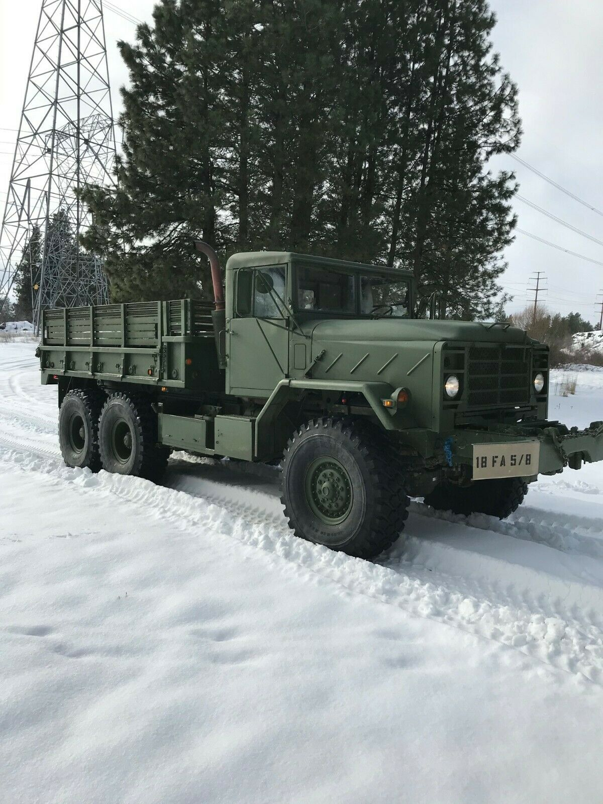 rust free 1984 AM General military