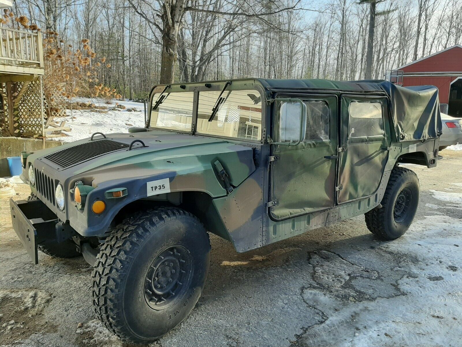 rust free 1989 AM General Humvee M1038 for sale