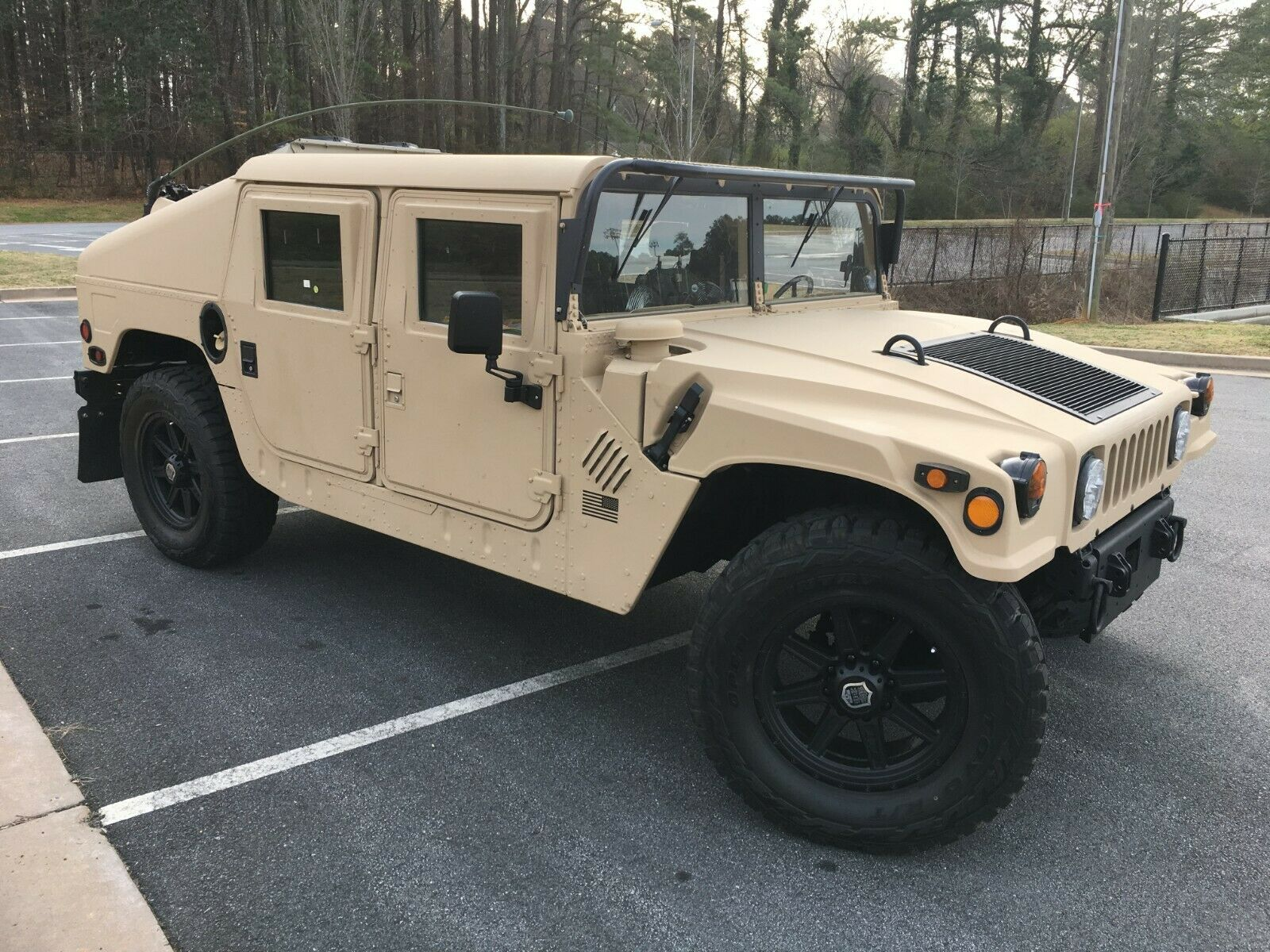 upgraded 2001 AM General M1045 A2 HMMWV military for sale