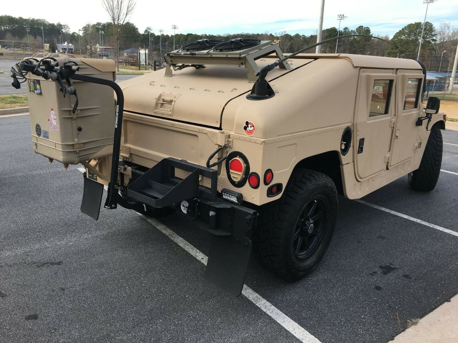upgraded 2001 AM General M1045 A2 HMMWV military