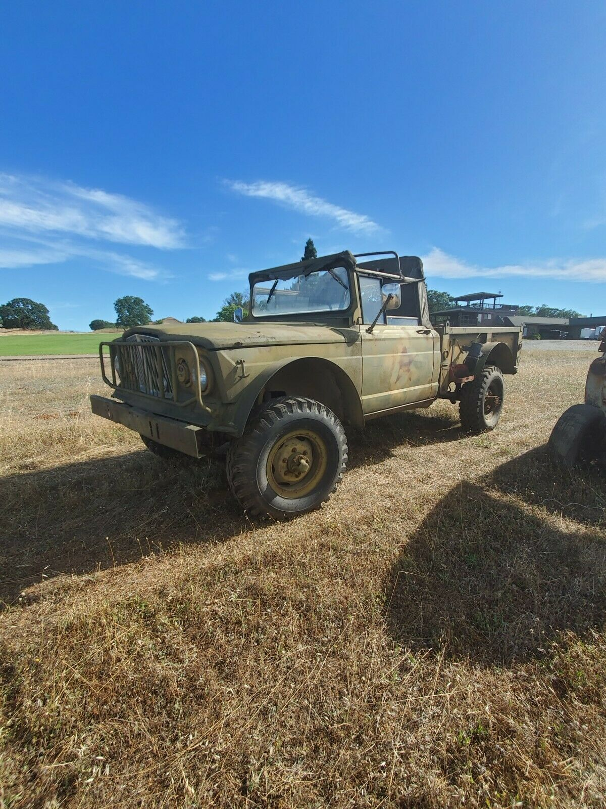 easy restoration 1967 Jeep military for sale