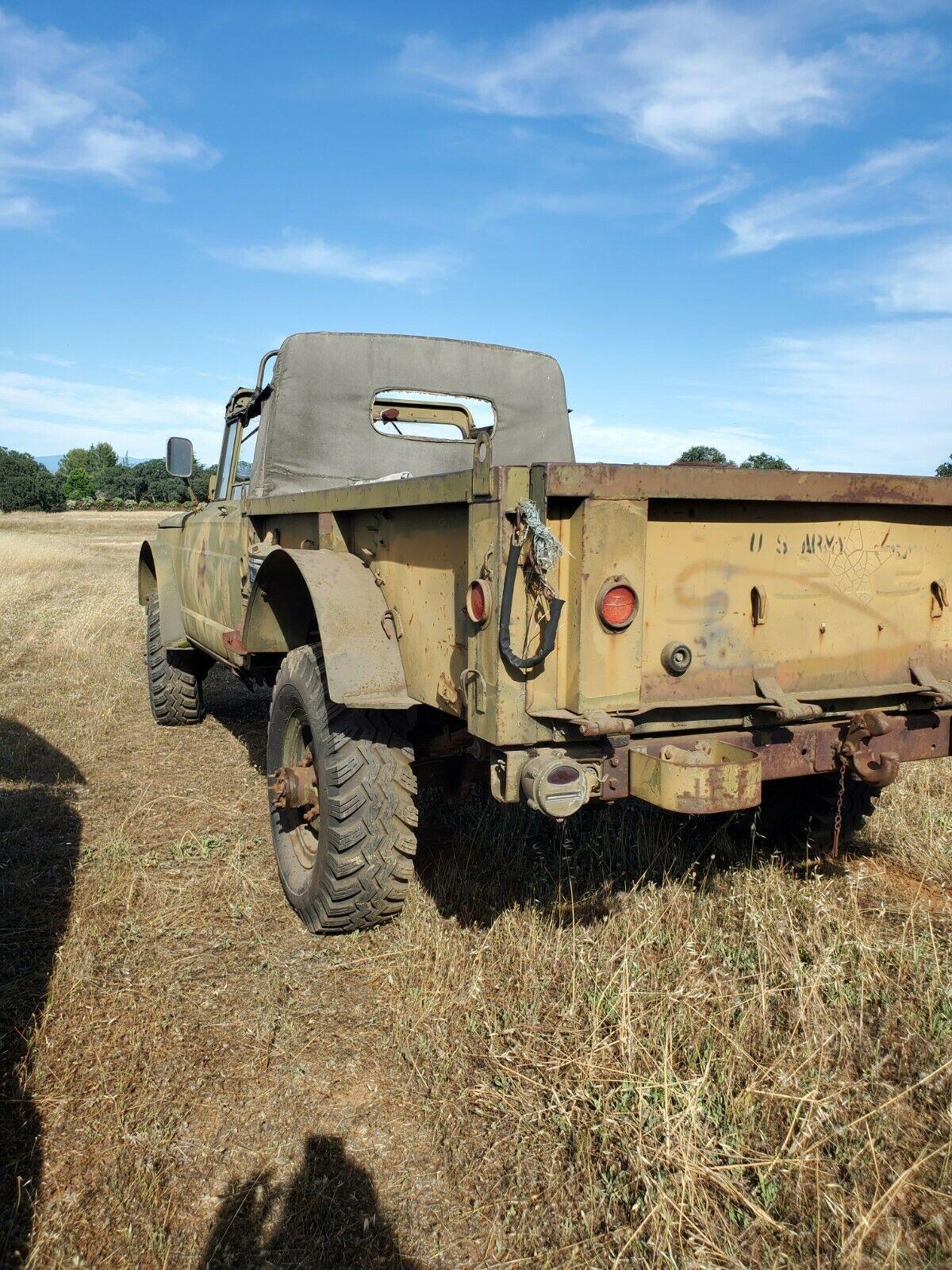 easy restoration 1967 Jeep military