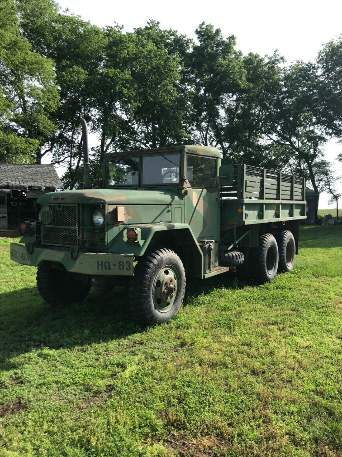Everything works 1970 Kaiser M35a2 military for sale