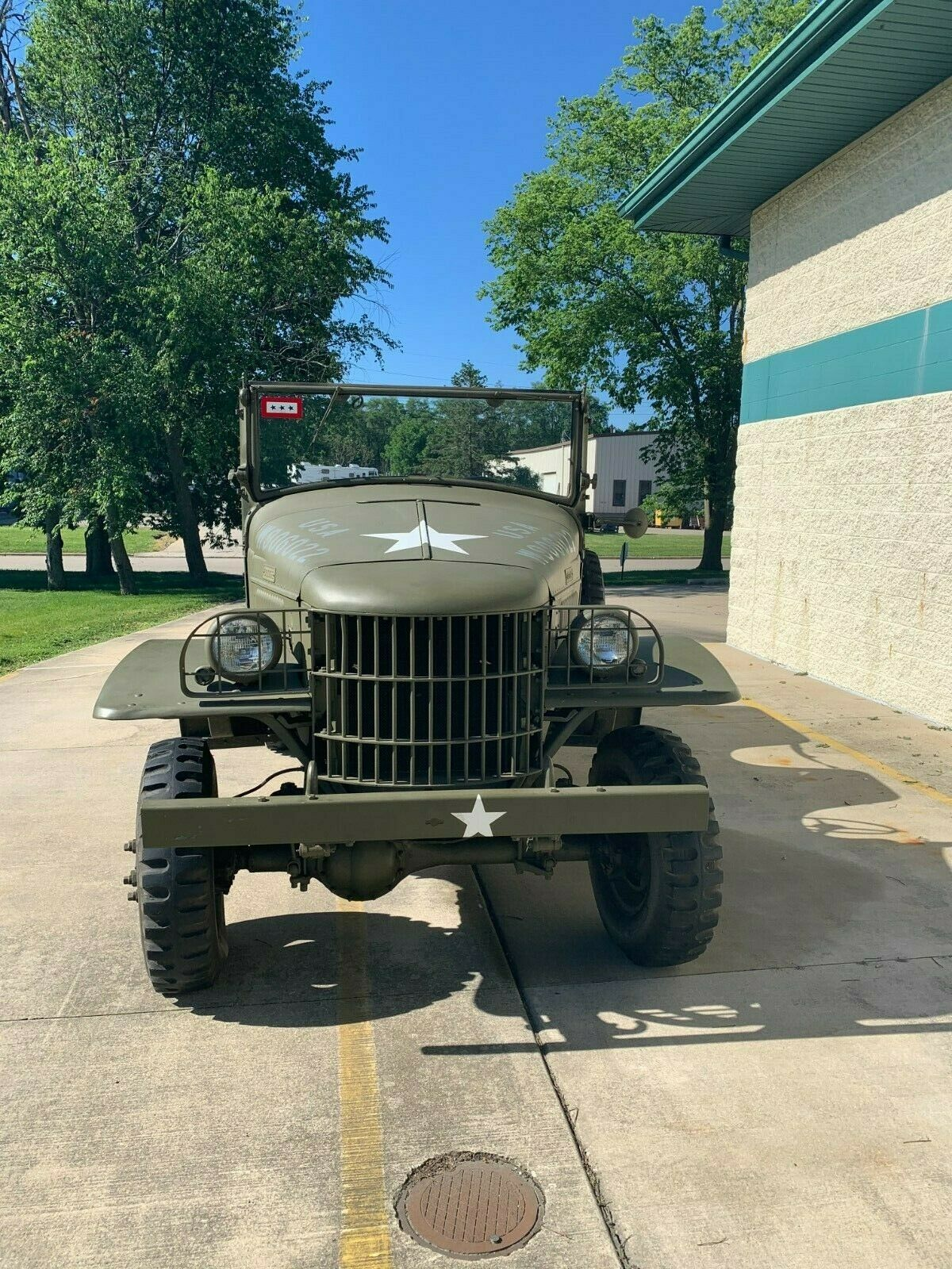 fully restored 1940 Dodge Power Wagon Command Car military