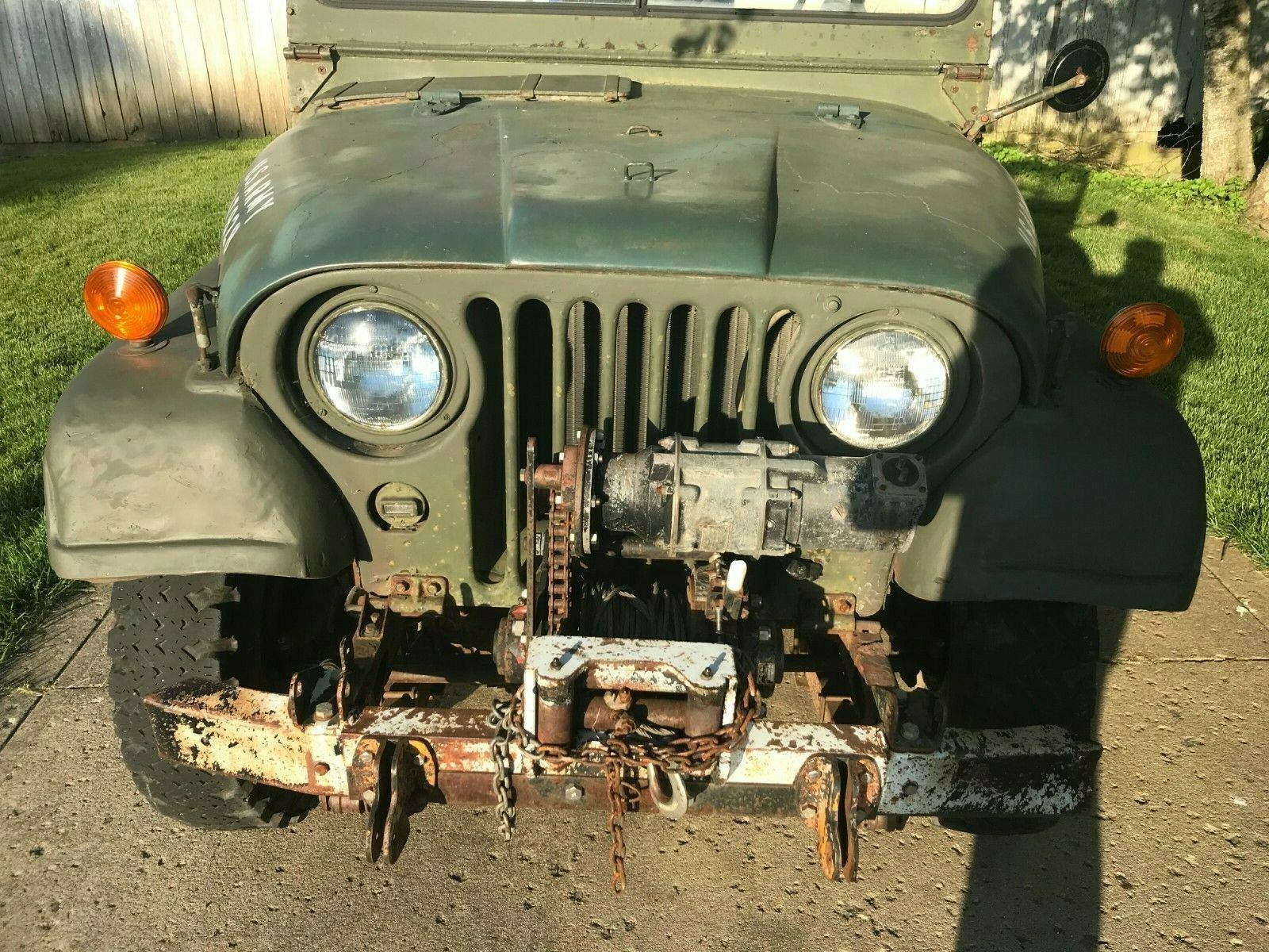 great shape 1953 Willys M38 military