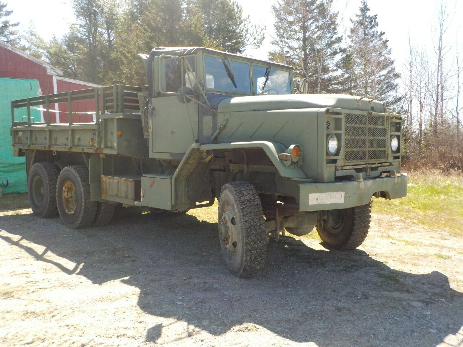 low miles 1984 AM General M 923 military for sale