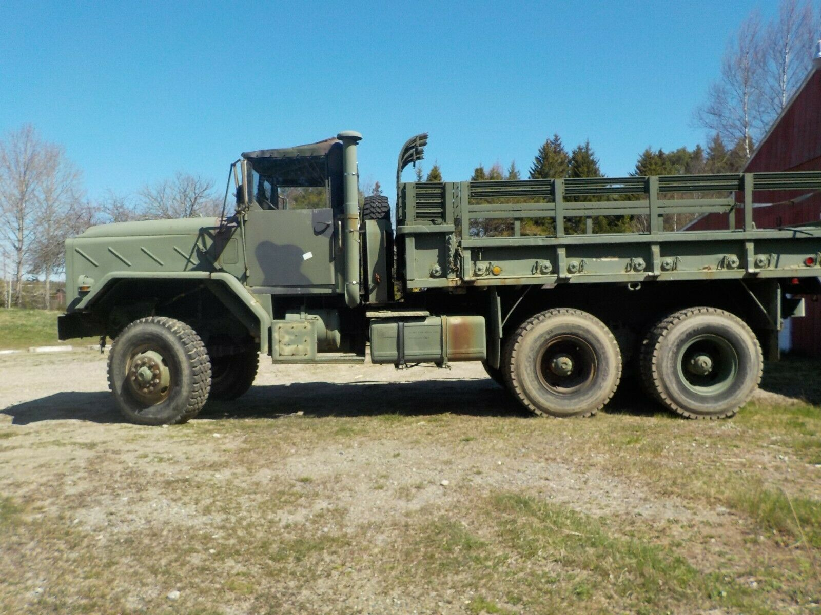low miles 1984 AM General M 923 military