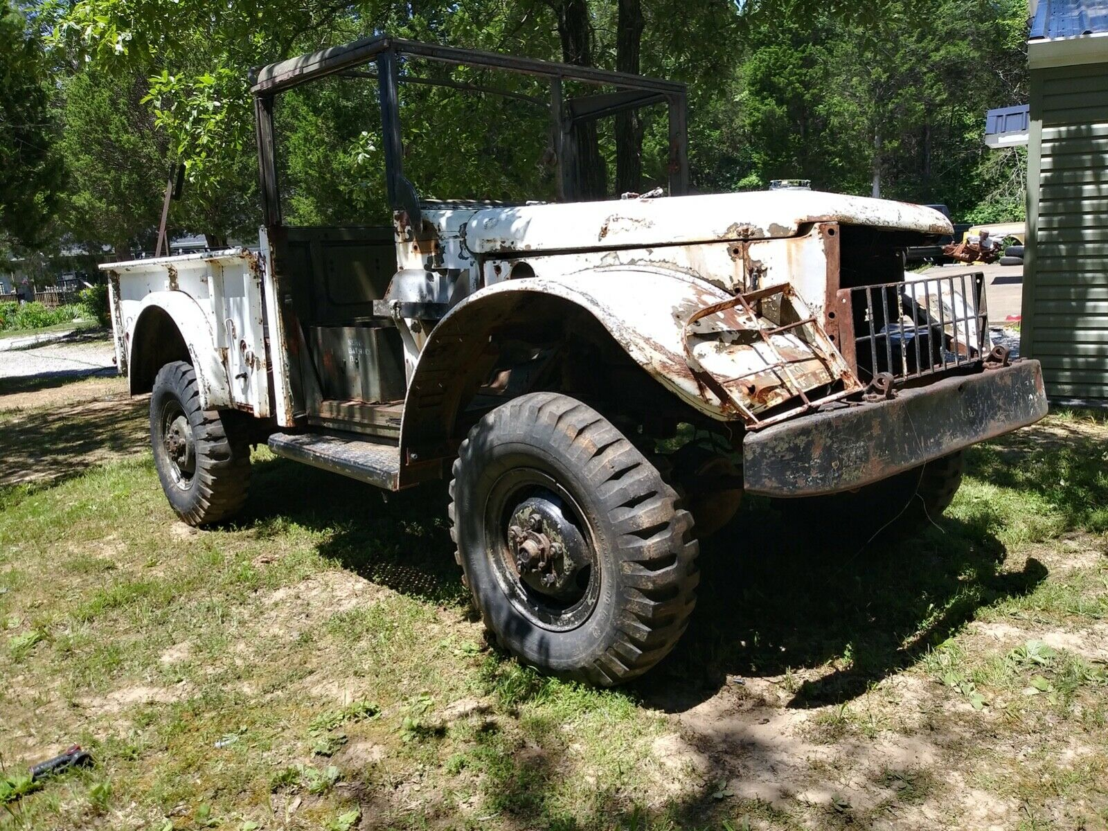 needs restoration 1951 Dodge m37 Power wagon military for sale