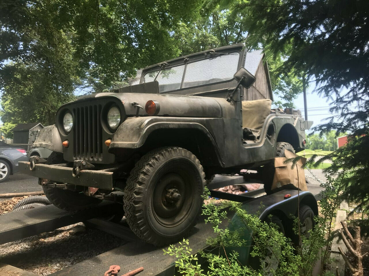 original shape 1953 Willys M38 A1 military for sale