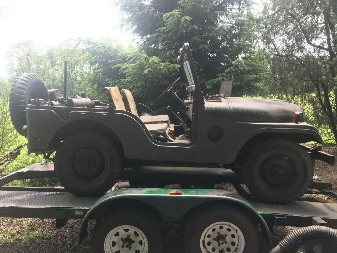 original shape 1953 Willys M38 A1 military