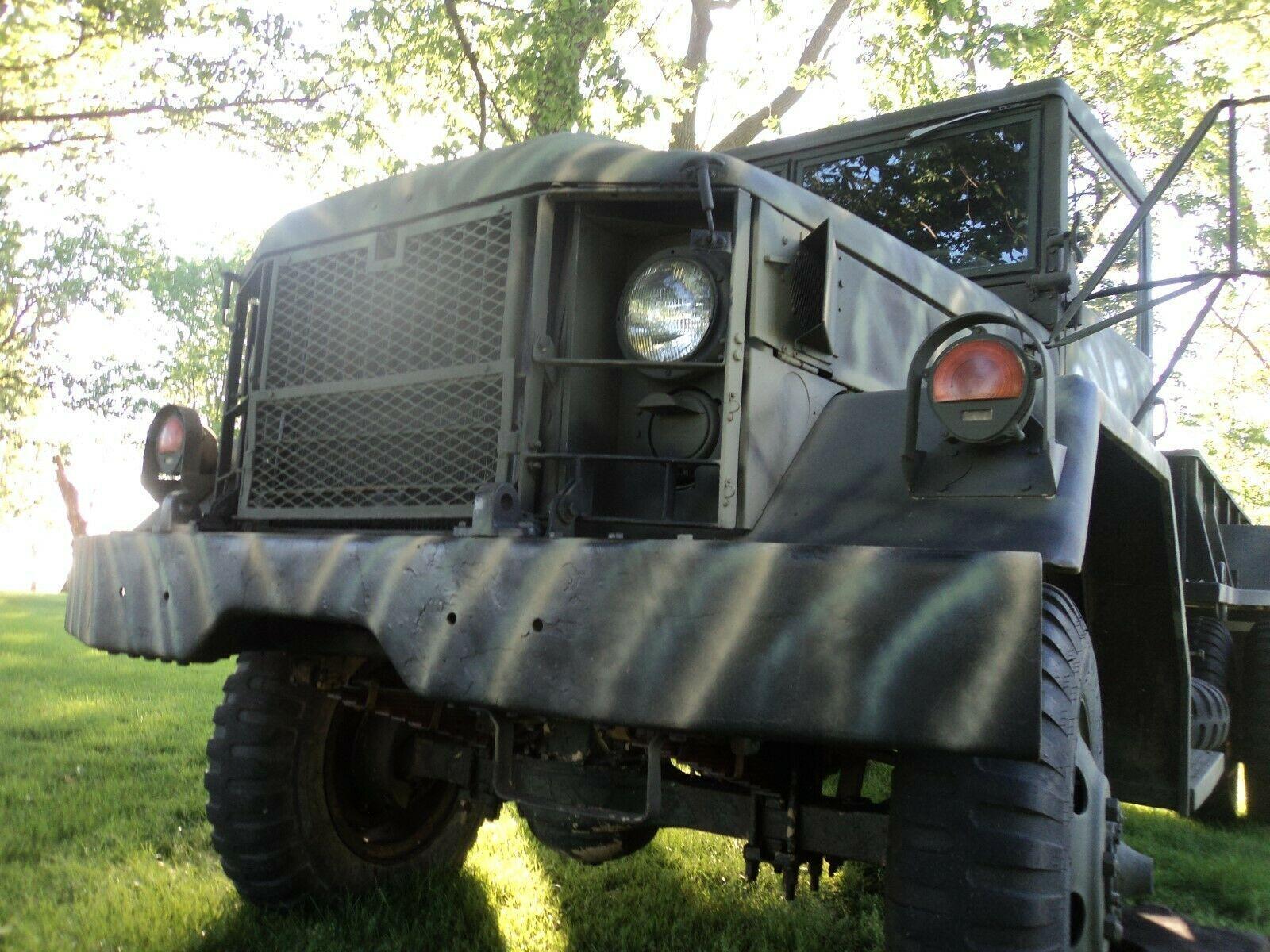 shortened 1969 AM General M 35 Deuce Bobber military for sale