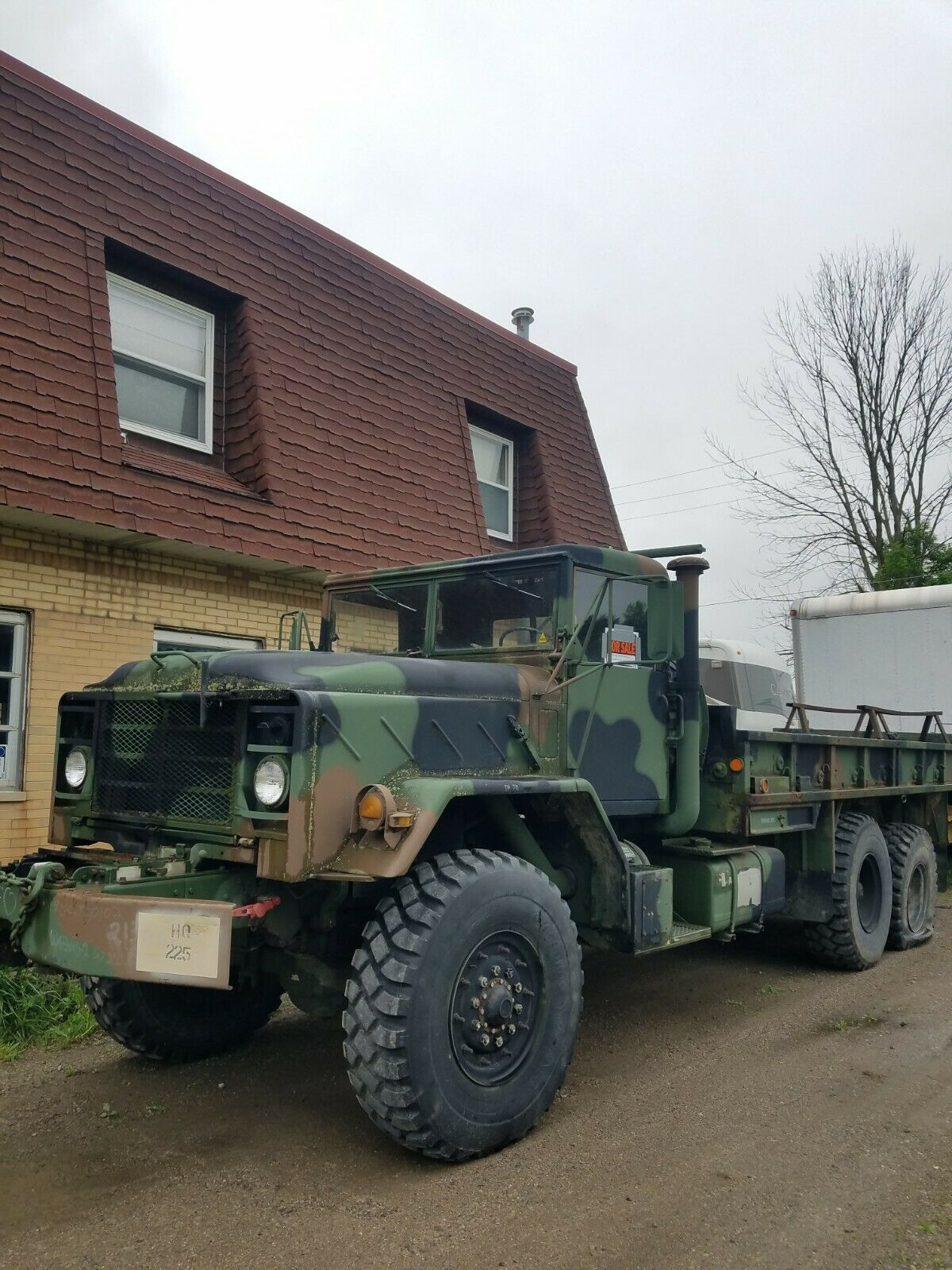 solid 1984 AM General M 942a1 military for sale