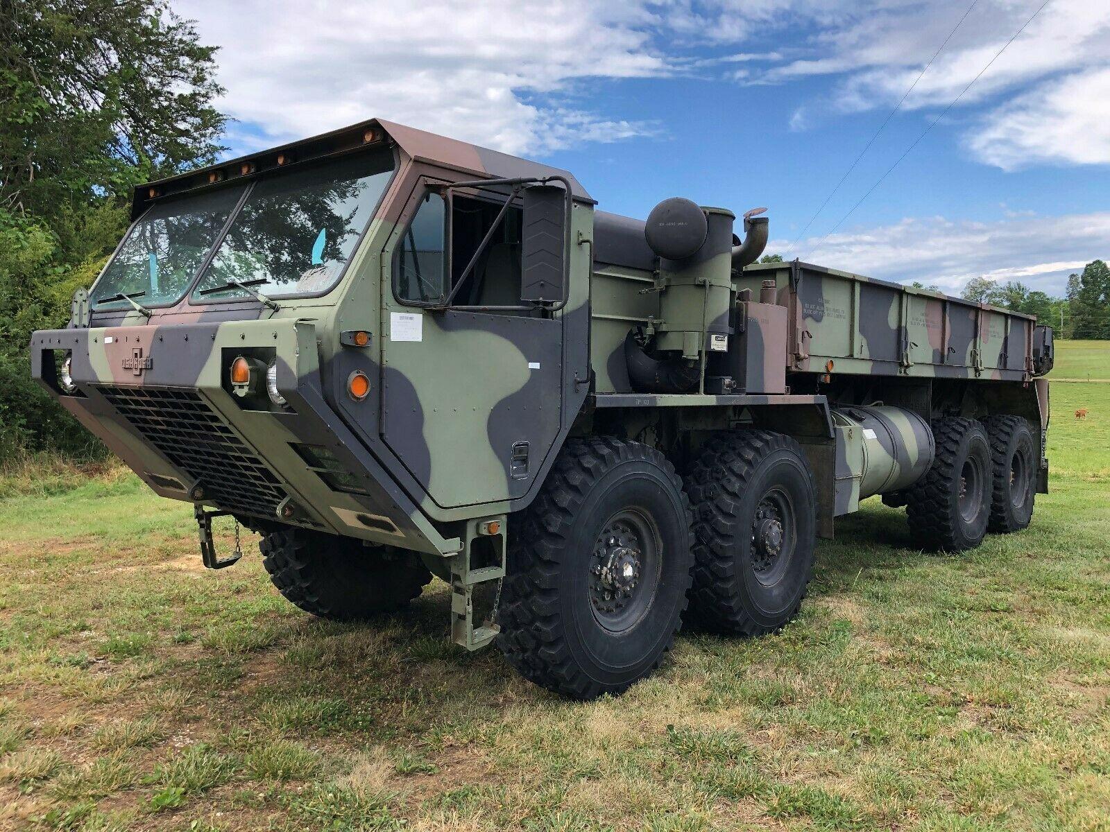 strong 1985 Oshkosh M985 HEMMT military for sale