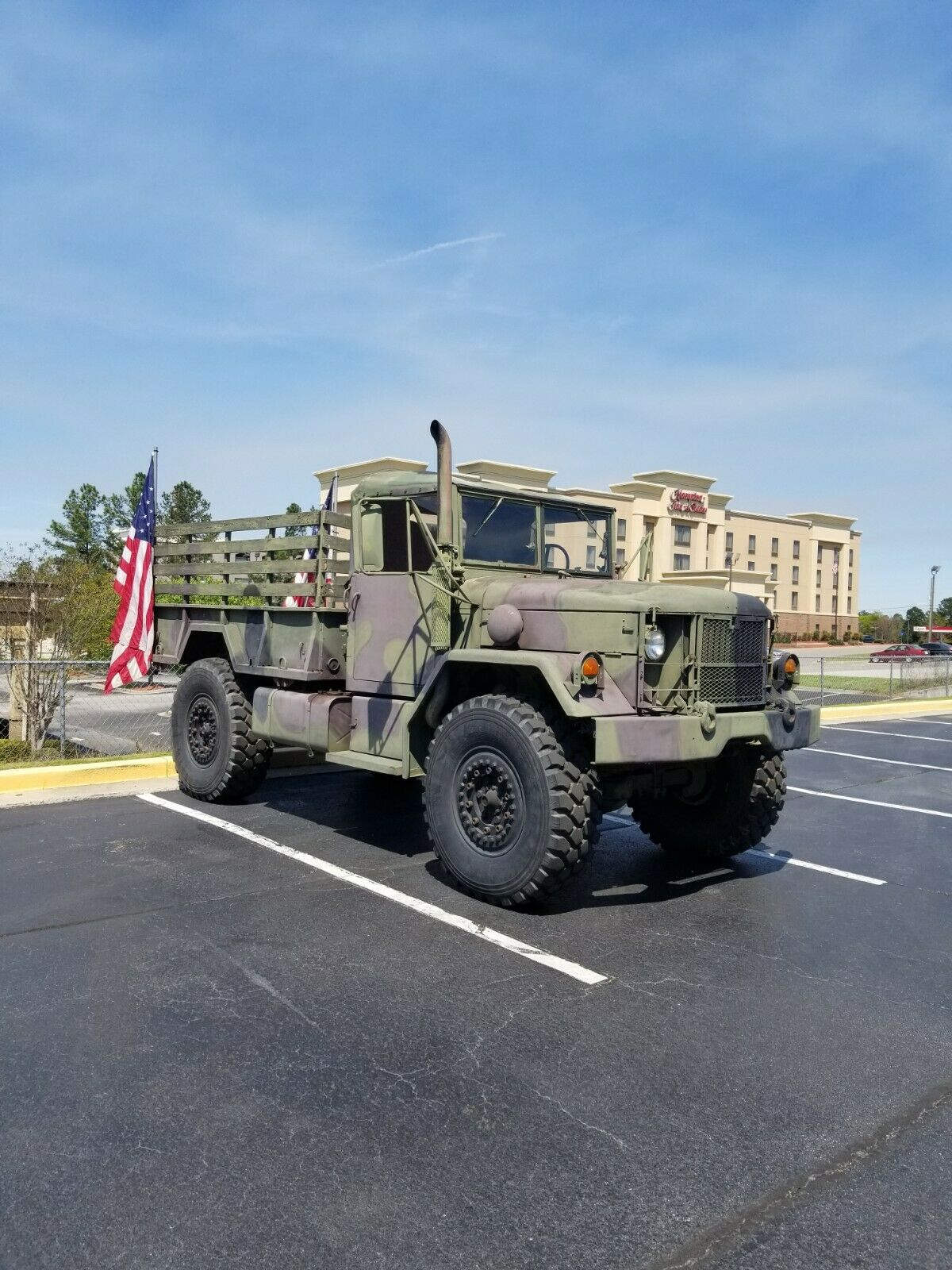 Bobbed Deuce 1987 AM General M35a2 Military for sale