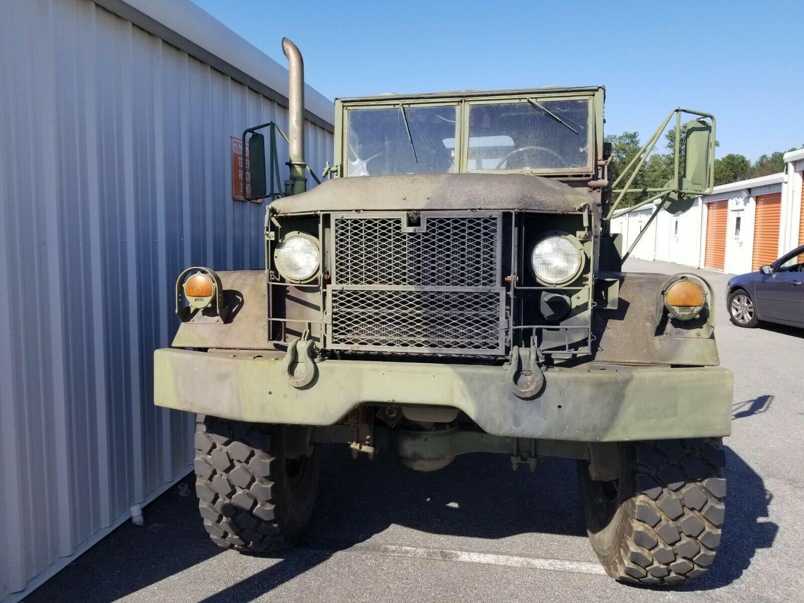 Bobbed Deuce 1987 AM General M35a2 Military
