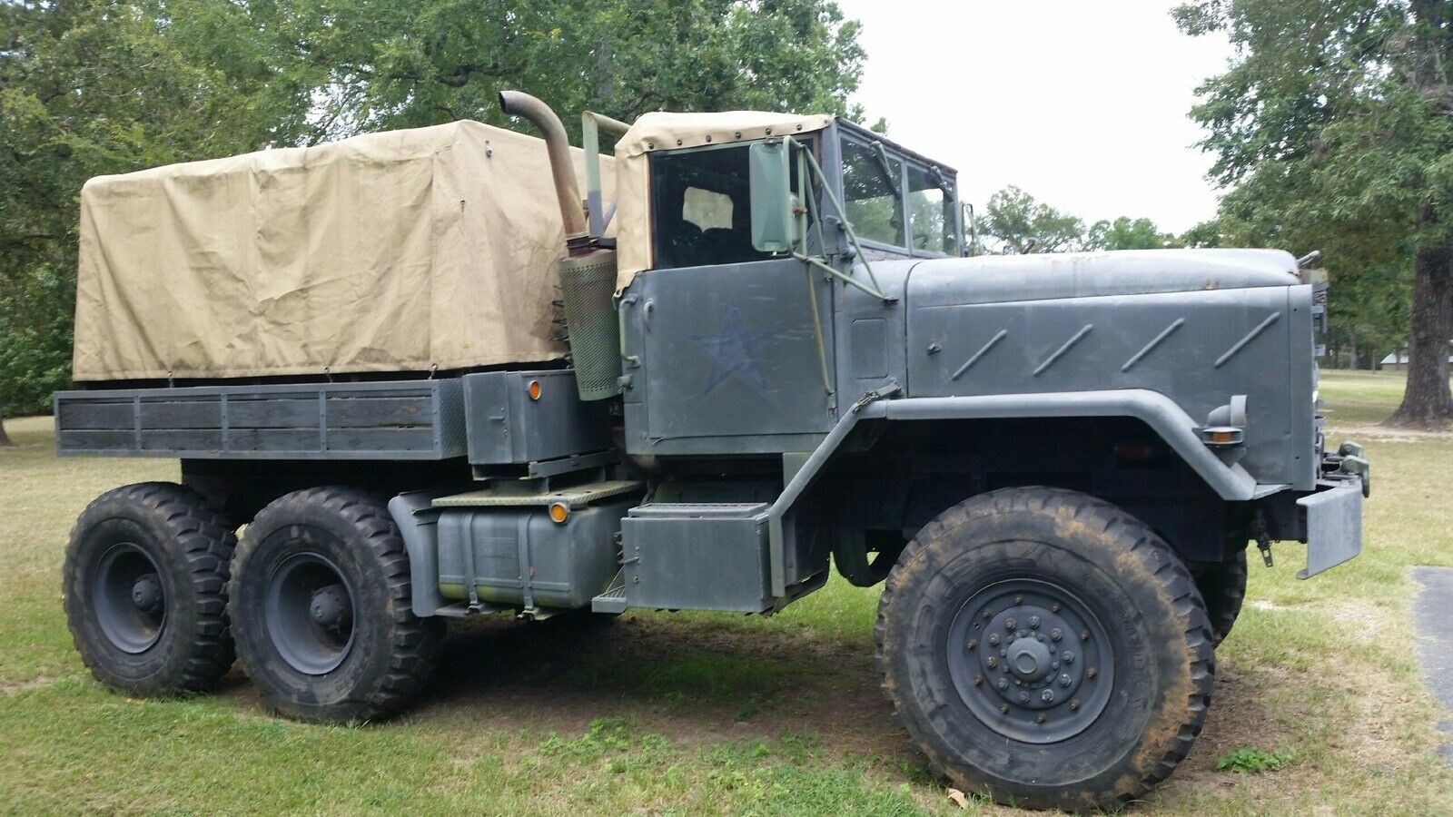 converted 1986 AM General M931 A1 military for sale