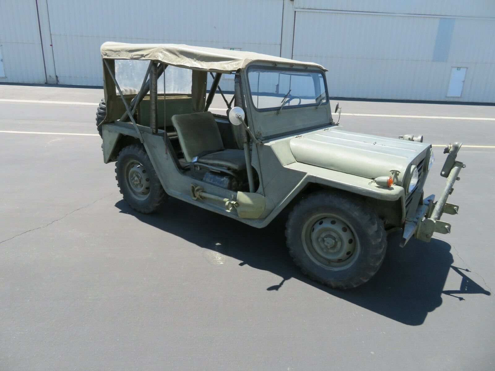 nice 1969 Ford M151a1 MUTT military