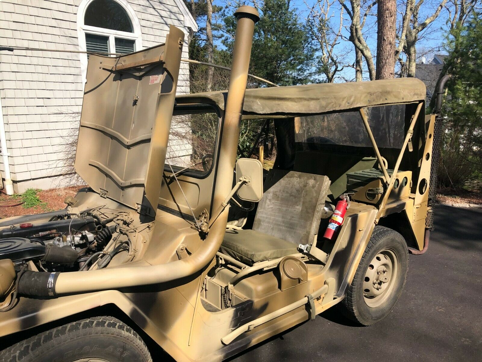 nicely maintained 1967 Ford Mutt M151a1 Military for sale
