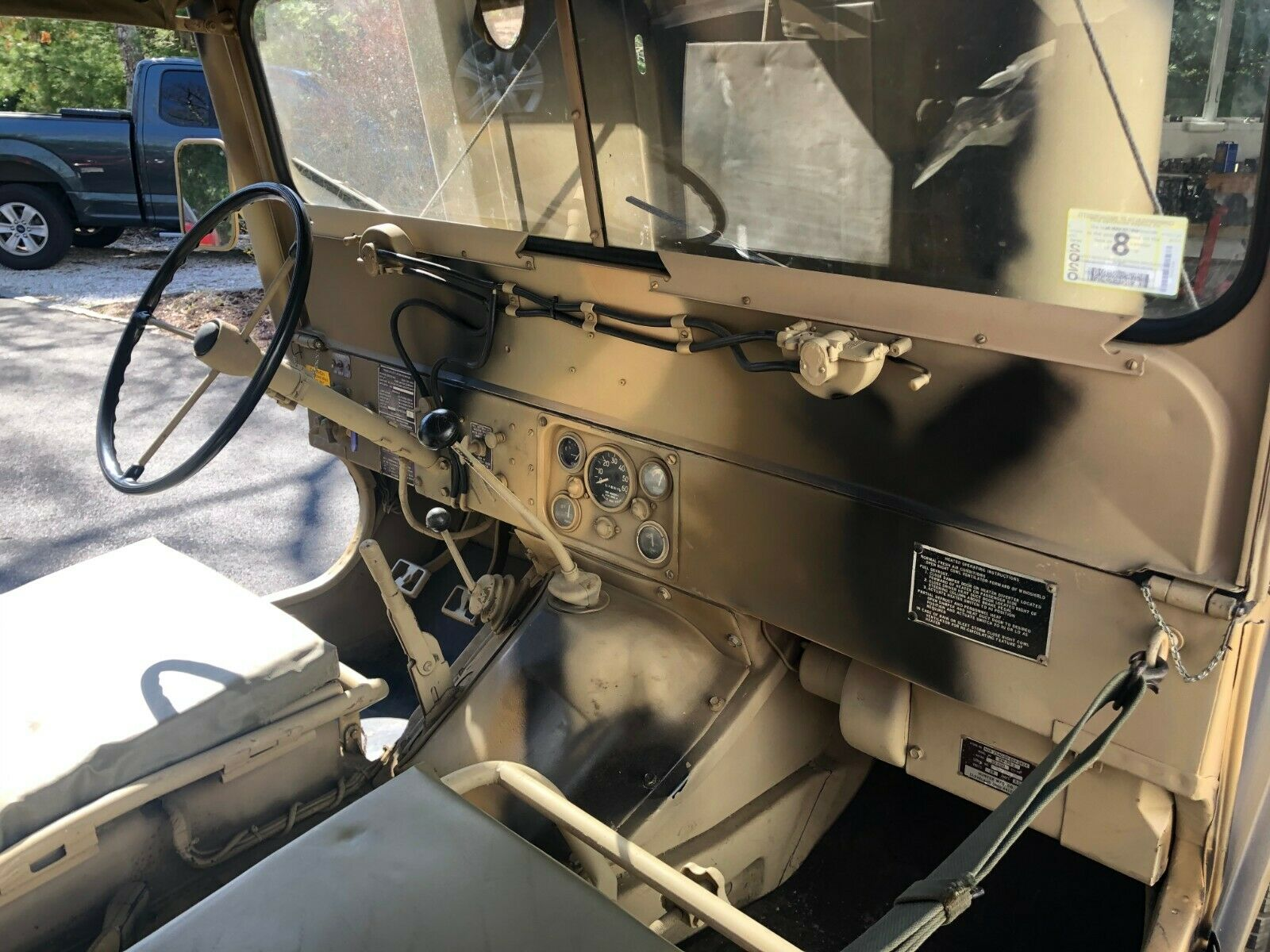 nicely maintained 1967 Ford Mutt M151a1 Military