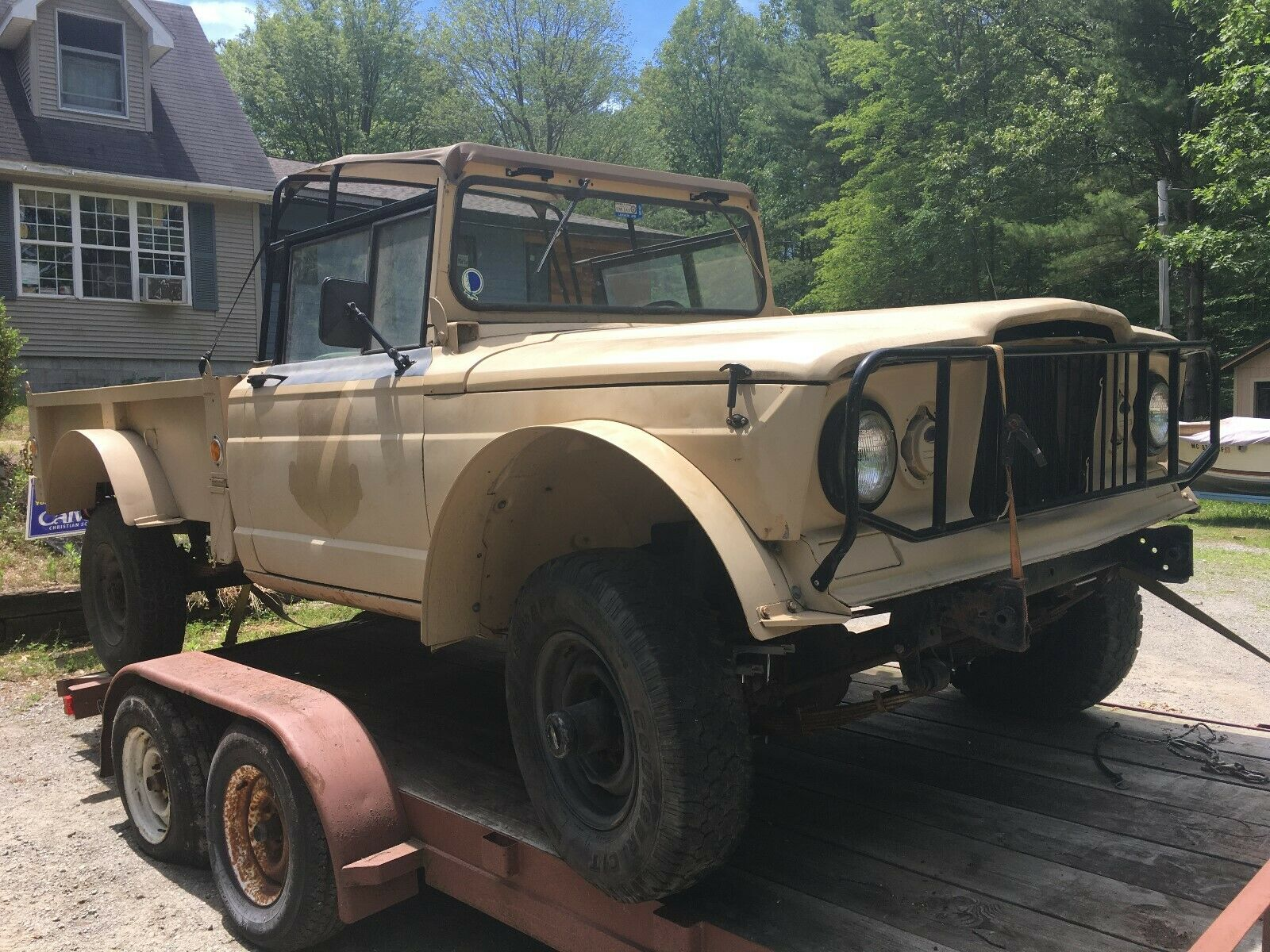 project 1967 Kaiser jeep 1 1/4 ton M715 military for sale