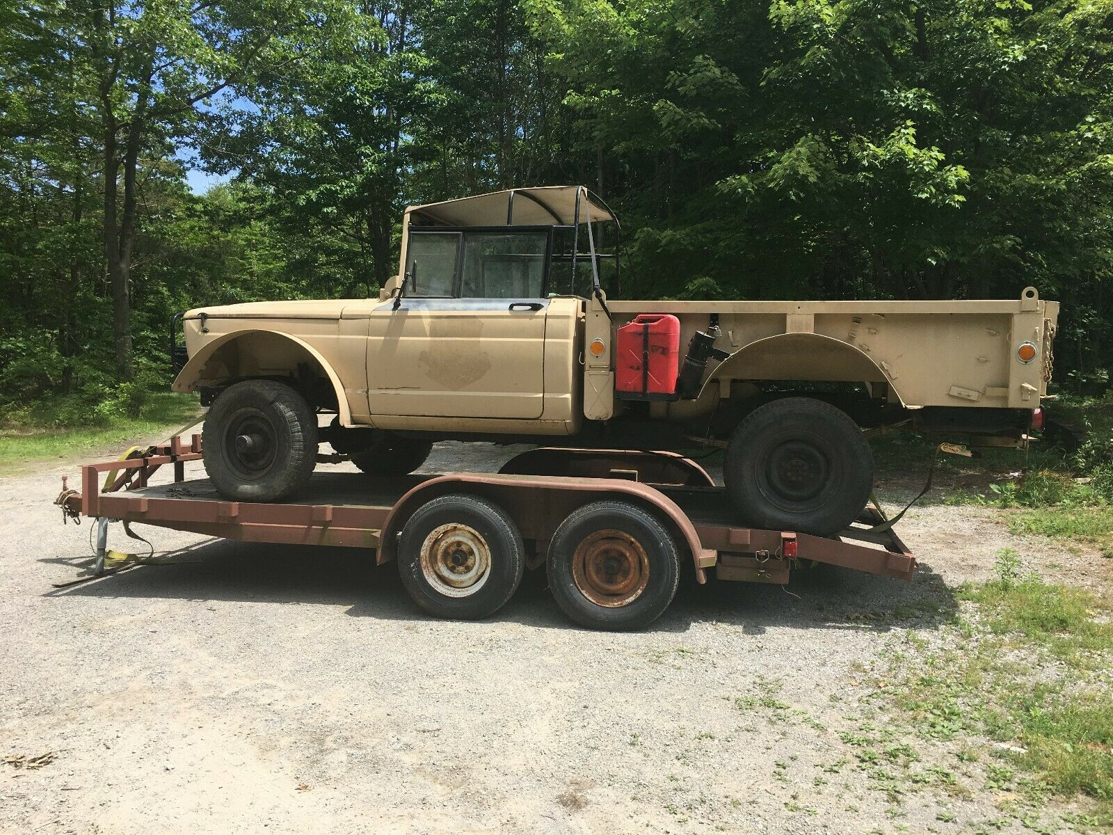 project 1967 Kaiser jeep 1 1/4 ton M715 military