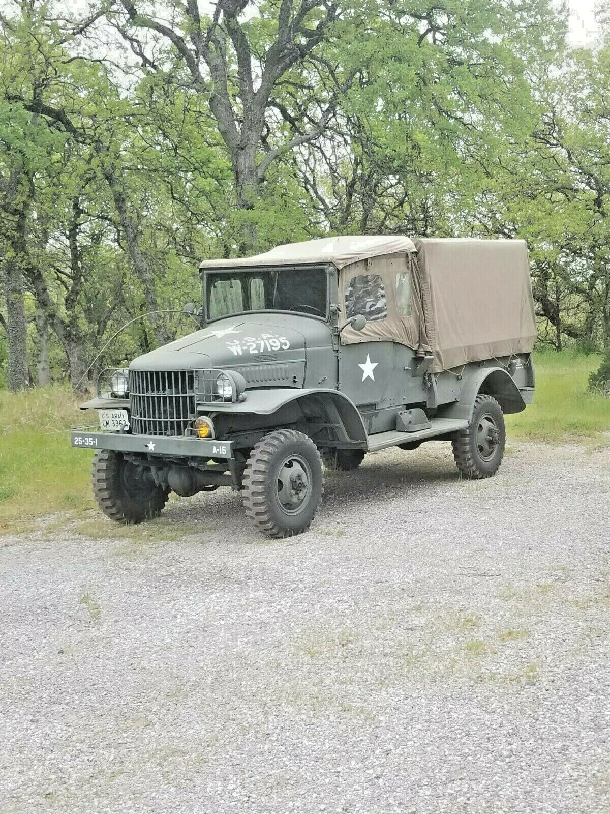 Rare Artic Package 1941 Dodge WC3 military for sale
