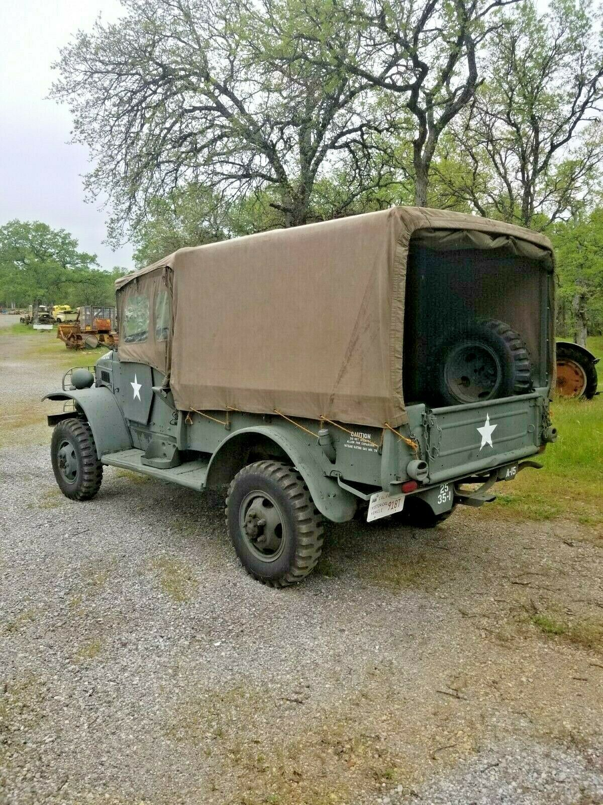 Rare Artic Package 1941 Dodge WC3 military
