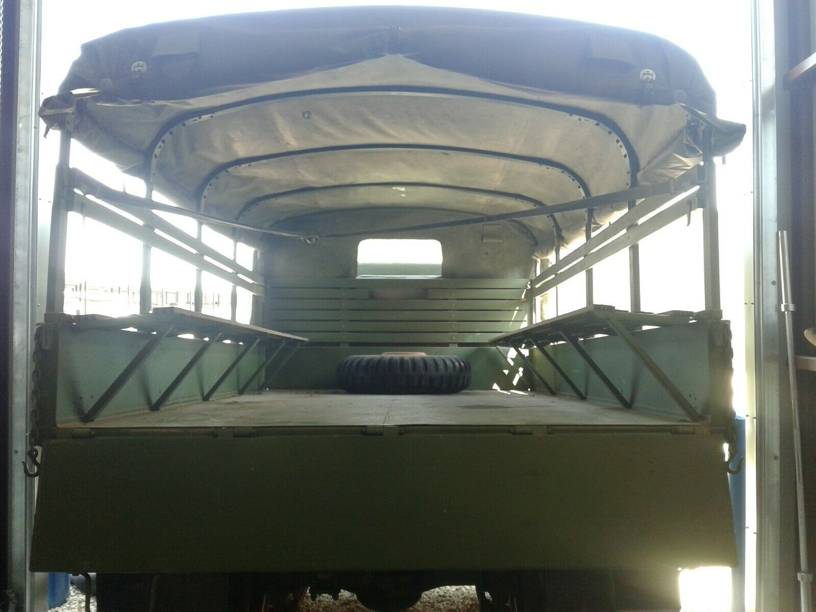recently serviced 1967 Kaiser Jeep M35a2 military