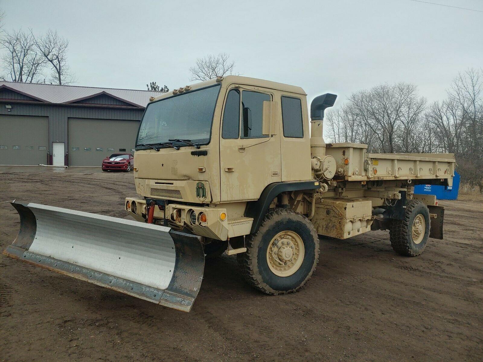 solid 1999 Stewart & Stevenson M1079 LMTV Cargo Truck military for sale